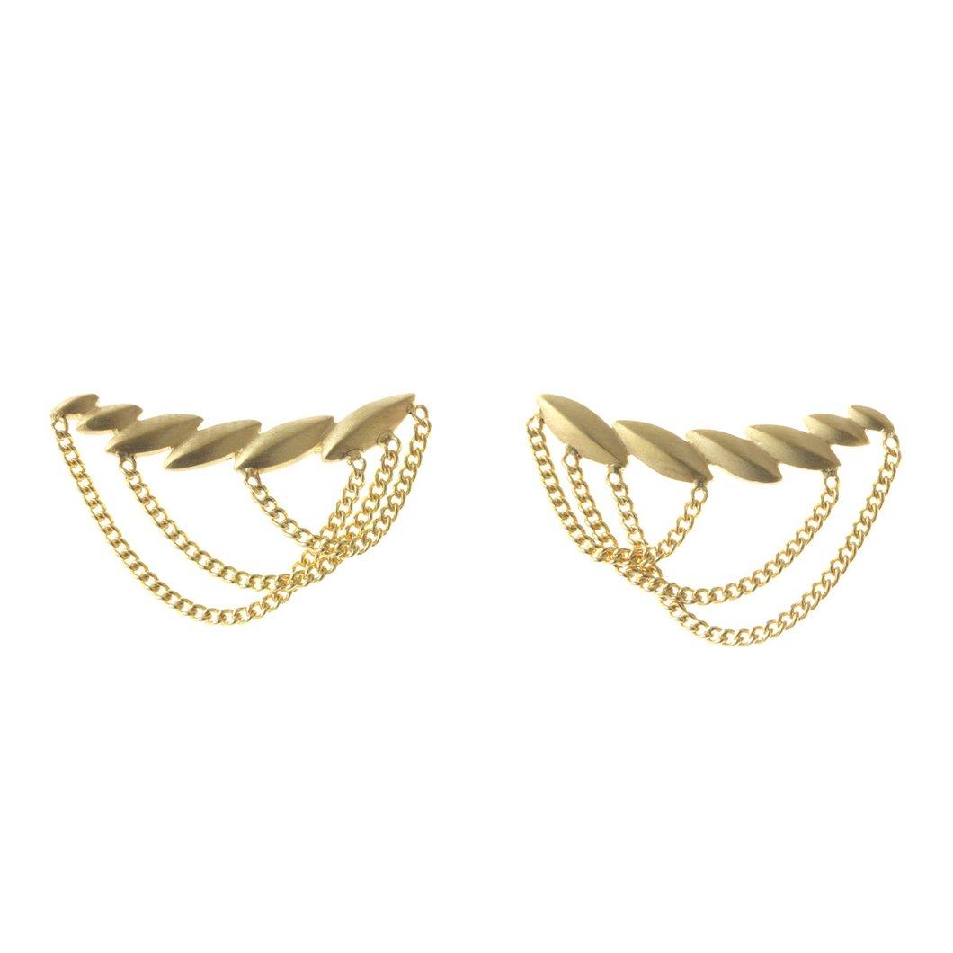 Cesar chain earring
