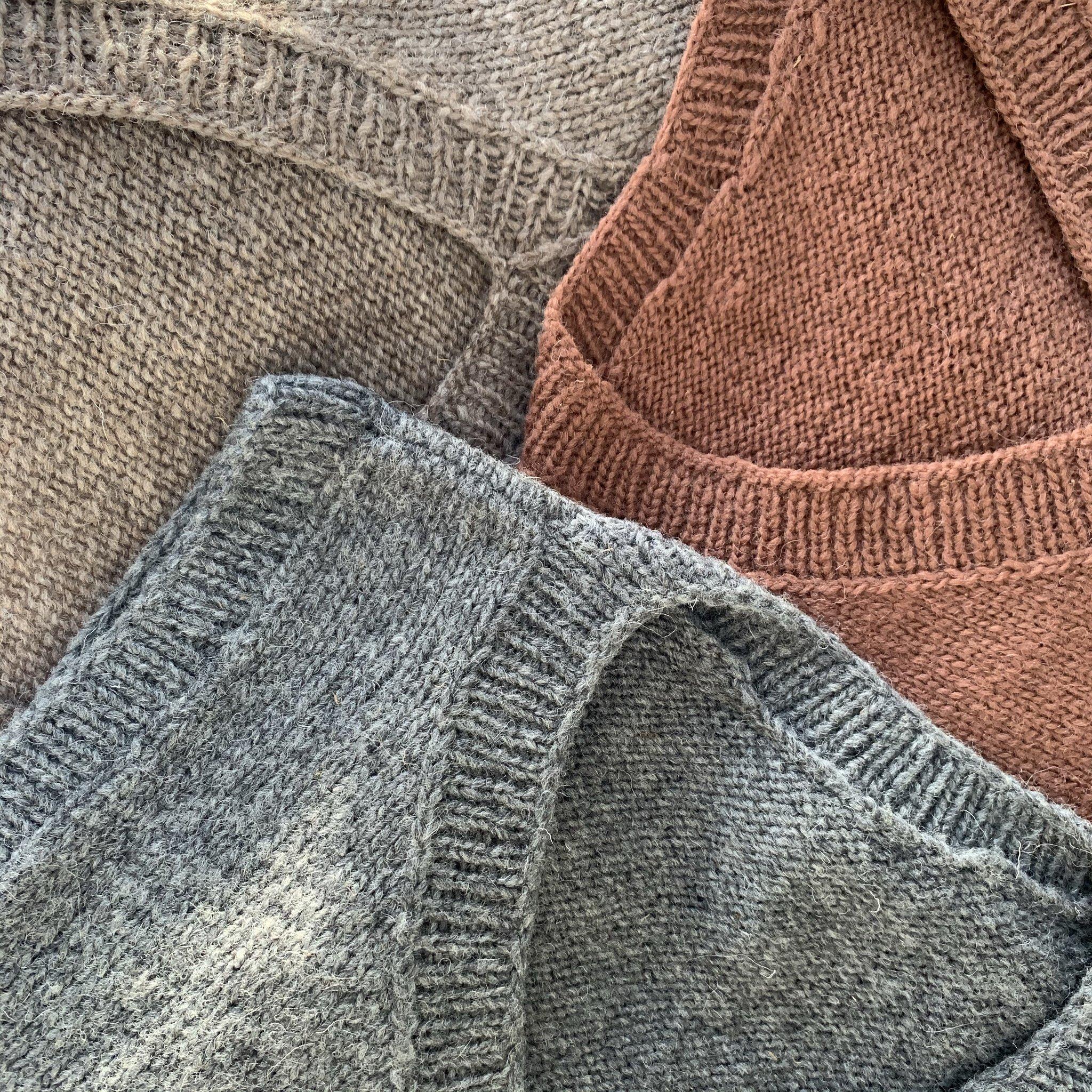 Vest Monte, 100% organic wool