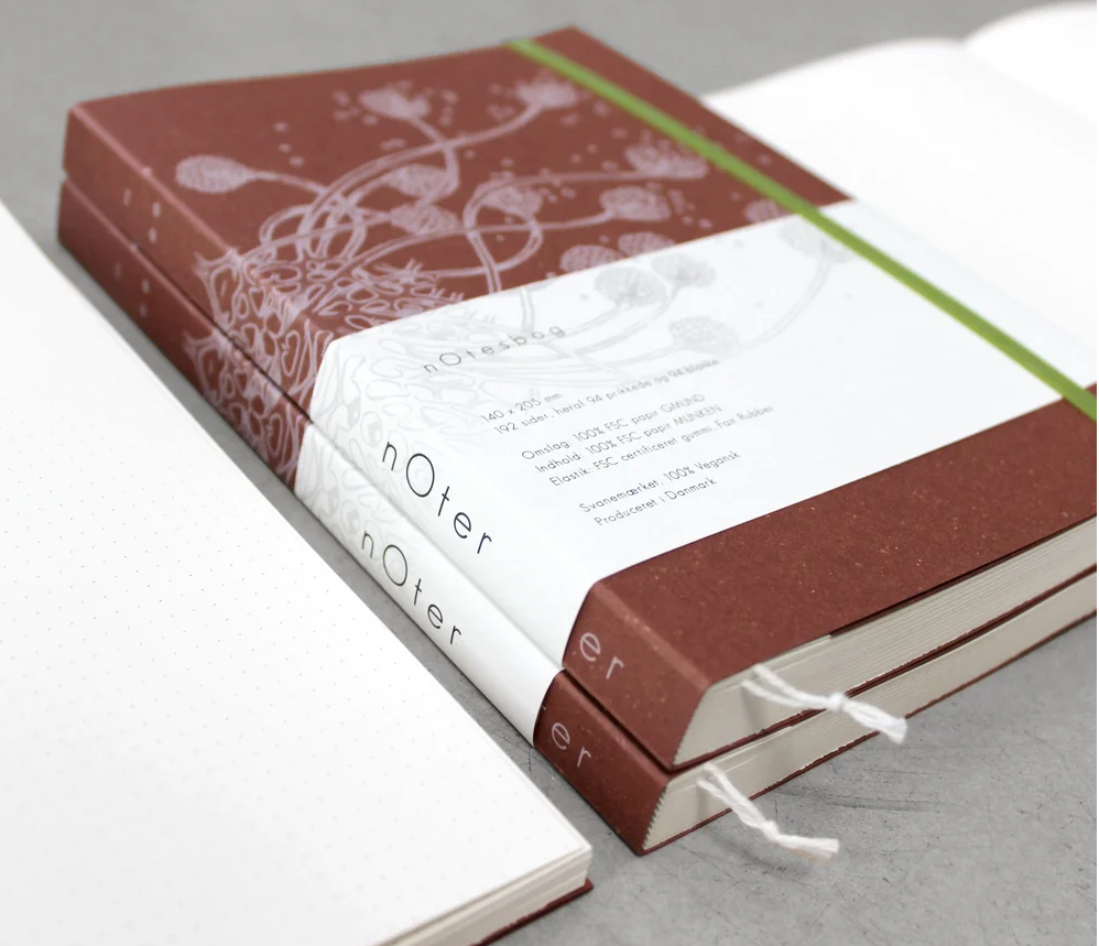 Fokus notebook 2021, in delicious cream-colored FSC certified paper