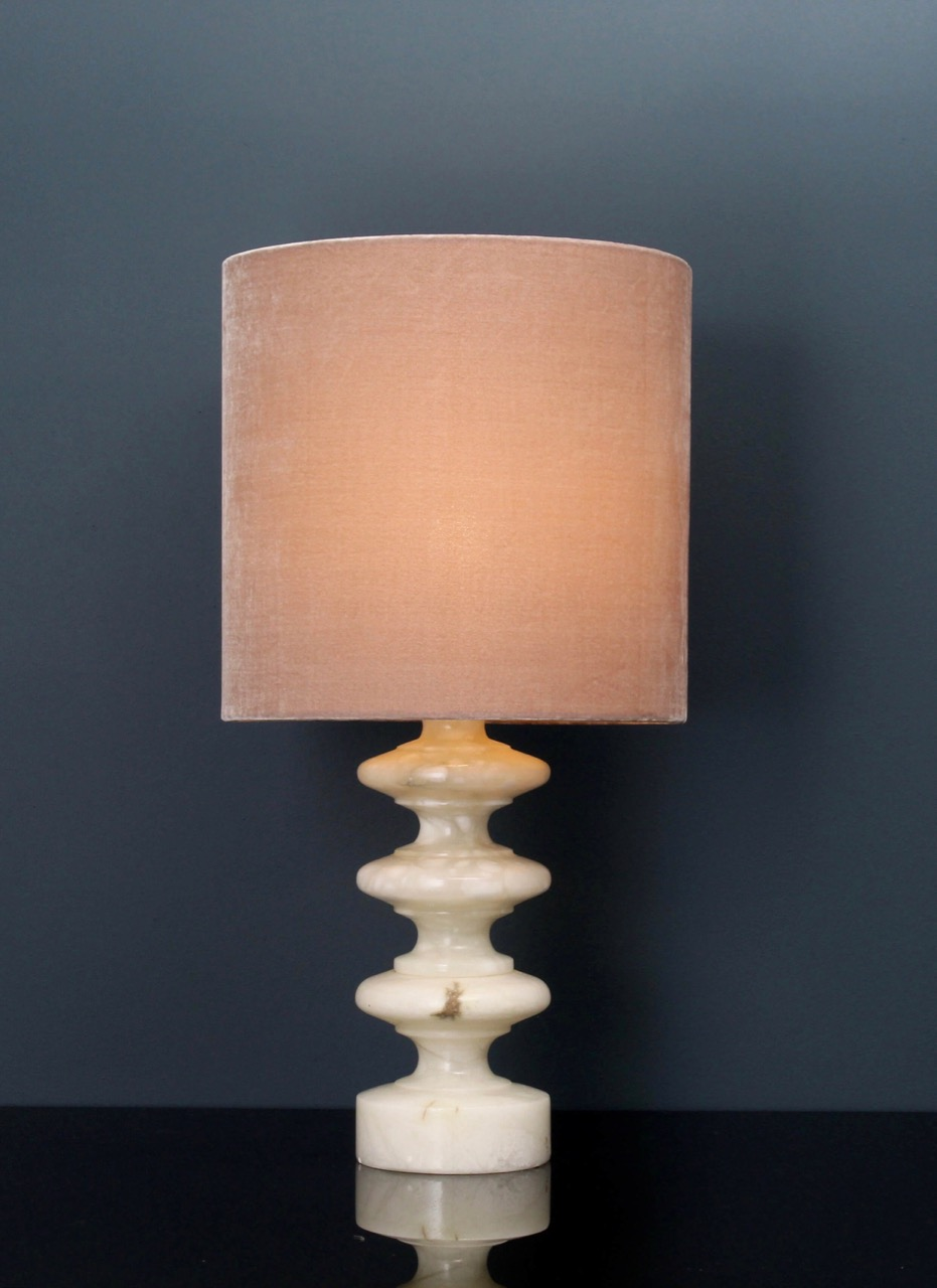 SOLD OUT, marble lamp, cream