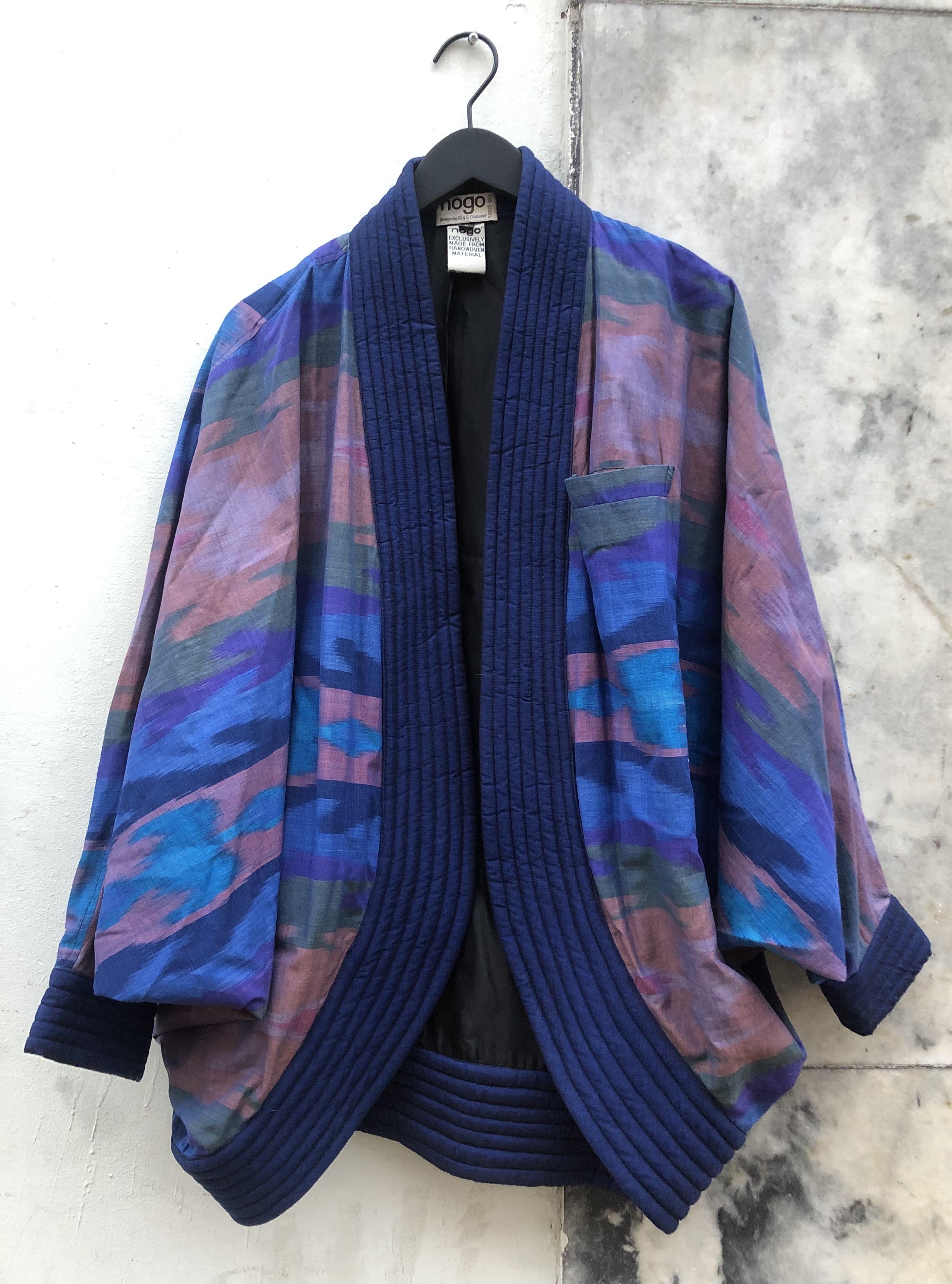 Myrecouture quiltet kimono