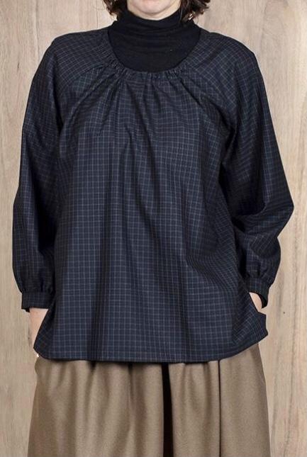 ASK X EMBLA  Gunhild checked blouse