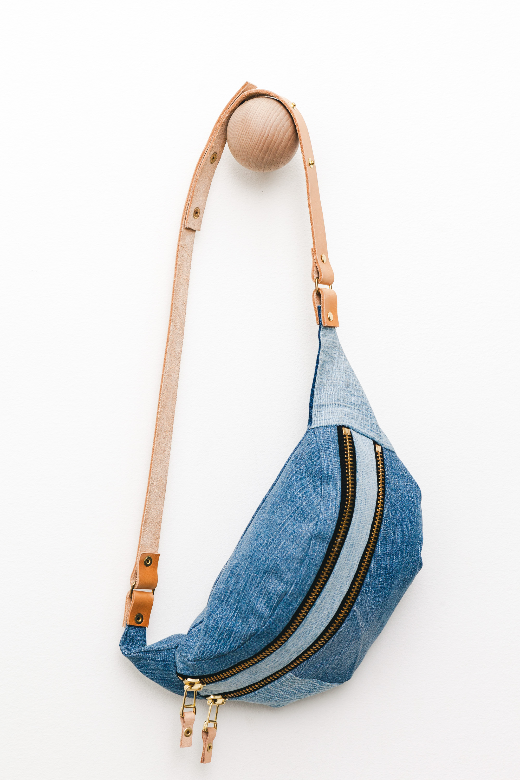 Naked Society - denim bum bag 38x16cm, Denmark