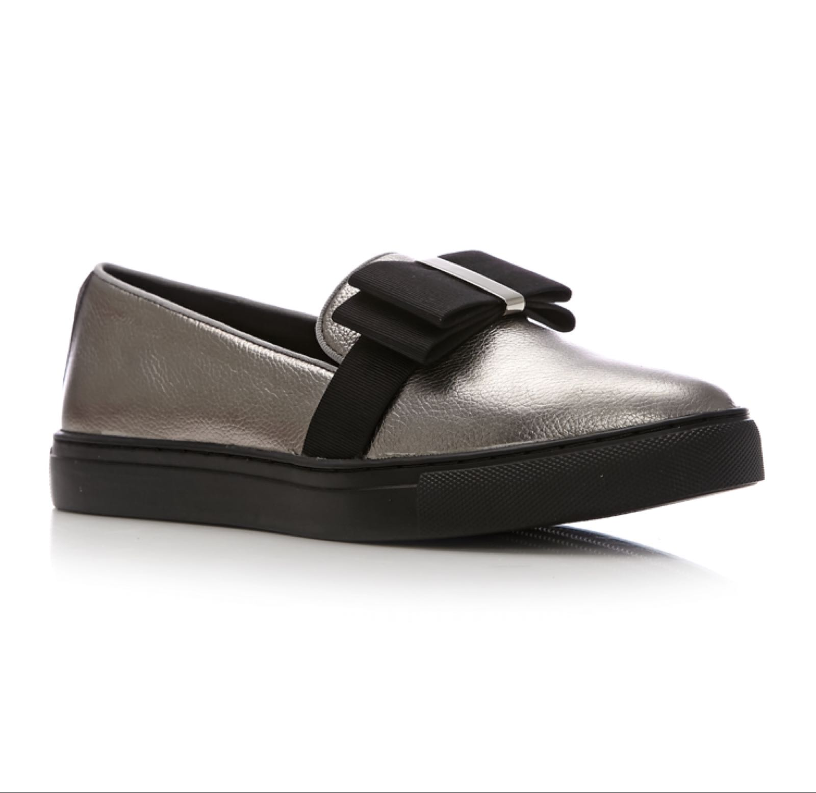 Moda in Pelle Eliza Pewter Leather