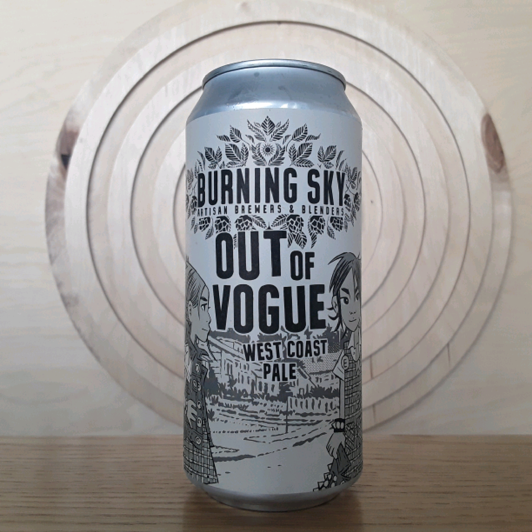Burning Sky Out of Vogue West Coast Pale