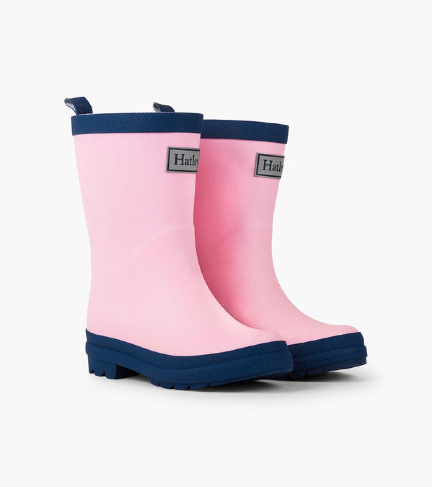 HATLEY Classic Rain Boots Pink