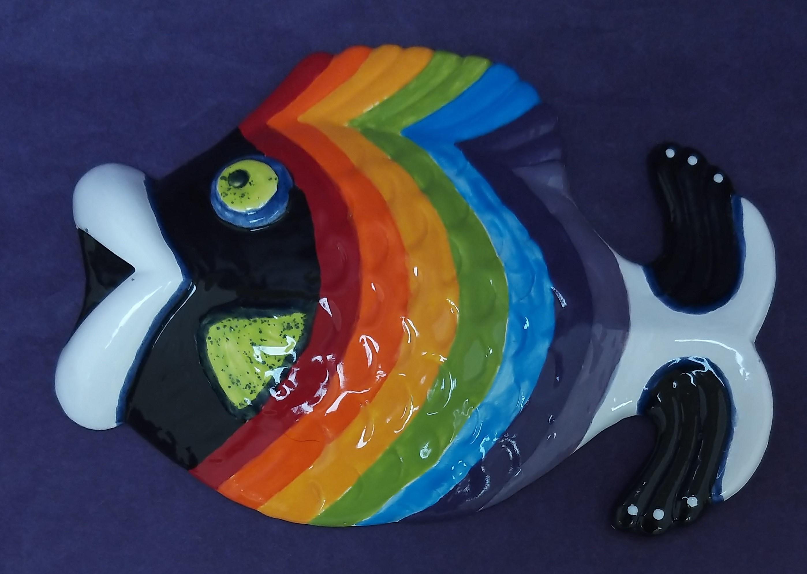 Small Fish Plaque (Made in Scotland)