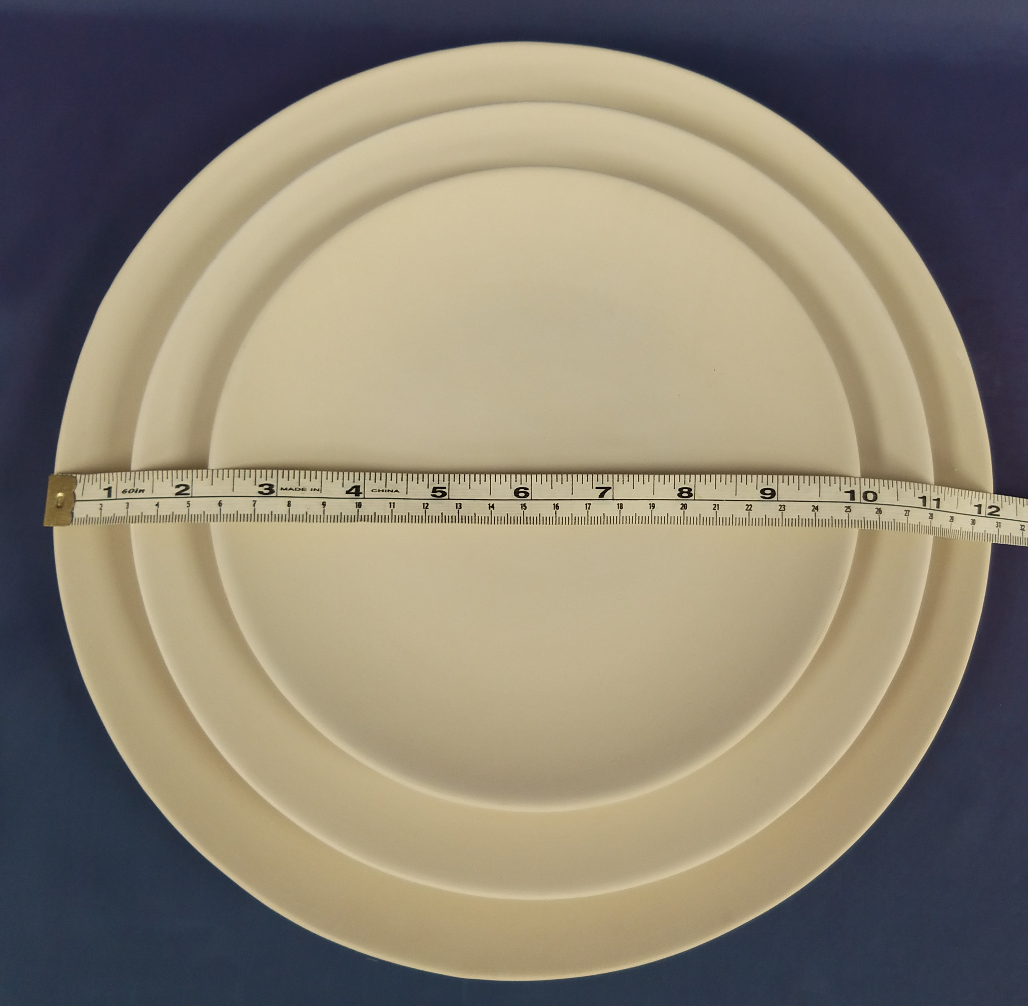 Curved Plate (Dinner)