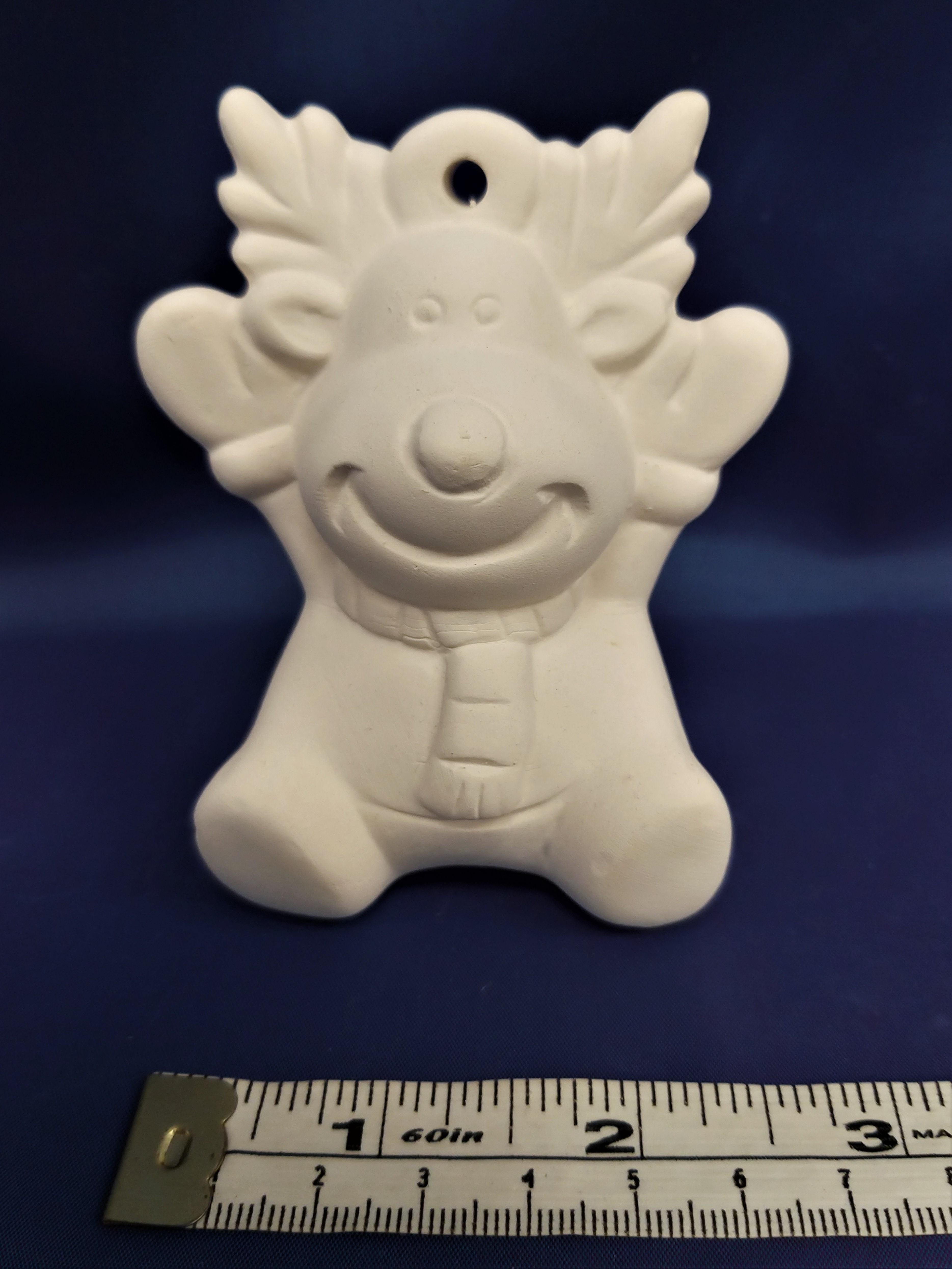 3D Reindeer Bauble