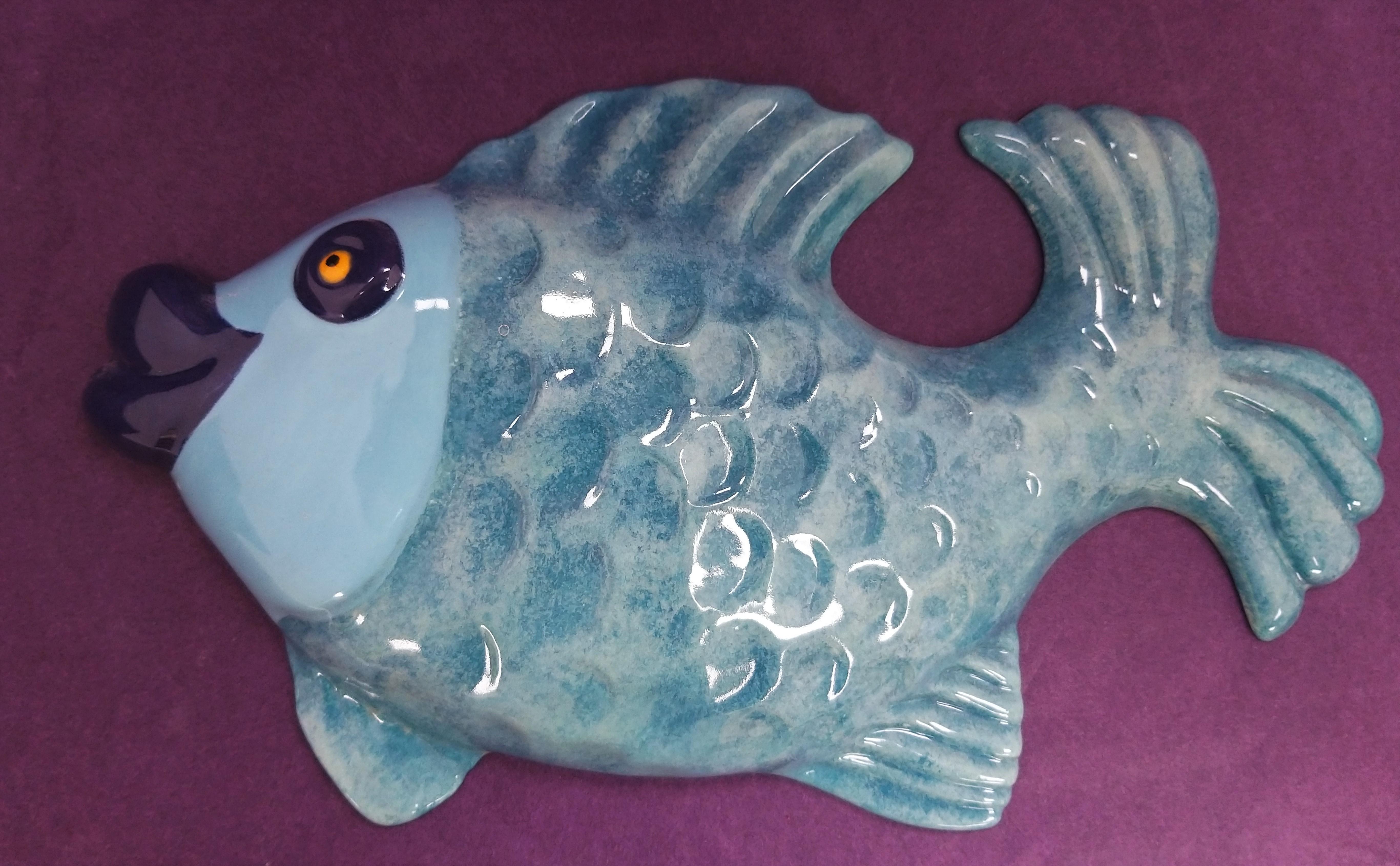 Large Fish Plaque