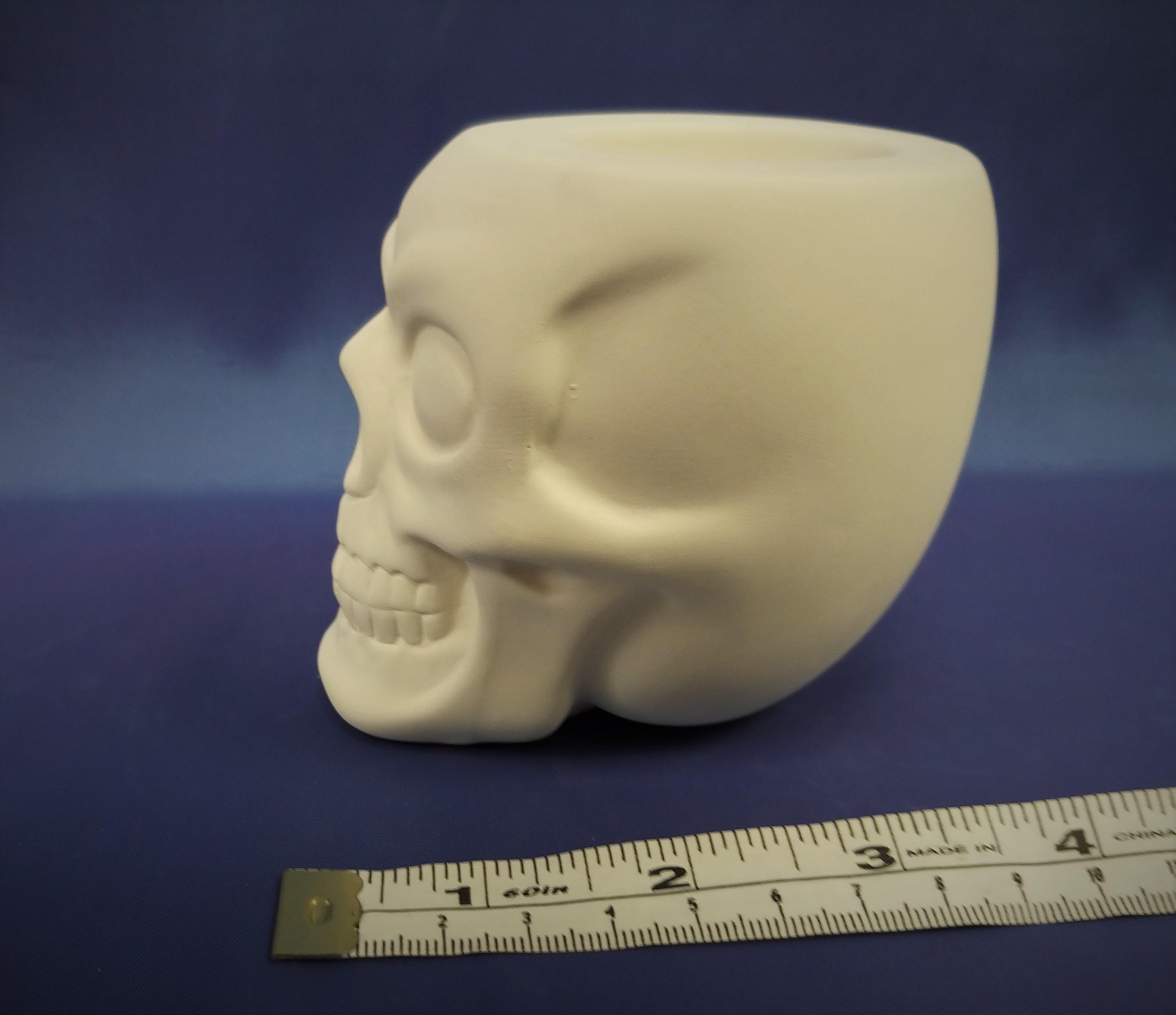 Scary Skull (T-light hole top of head)