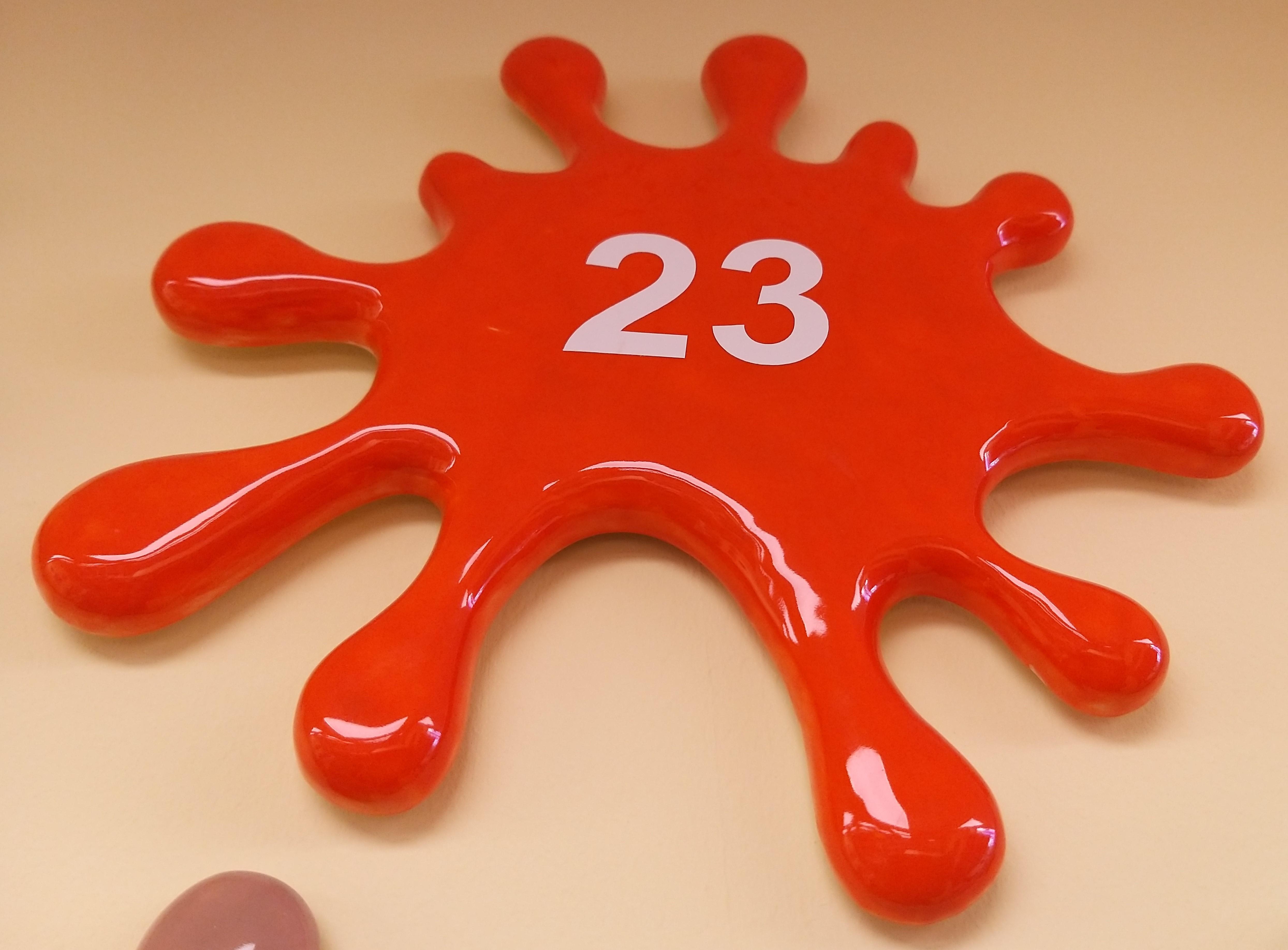 23. Bright Orange