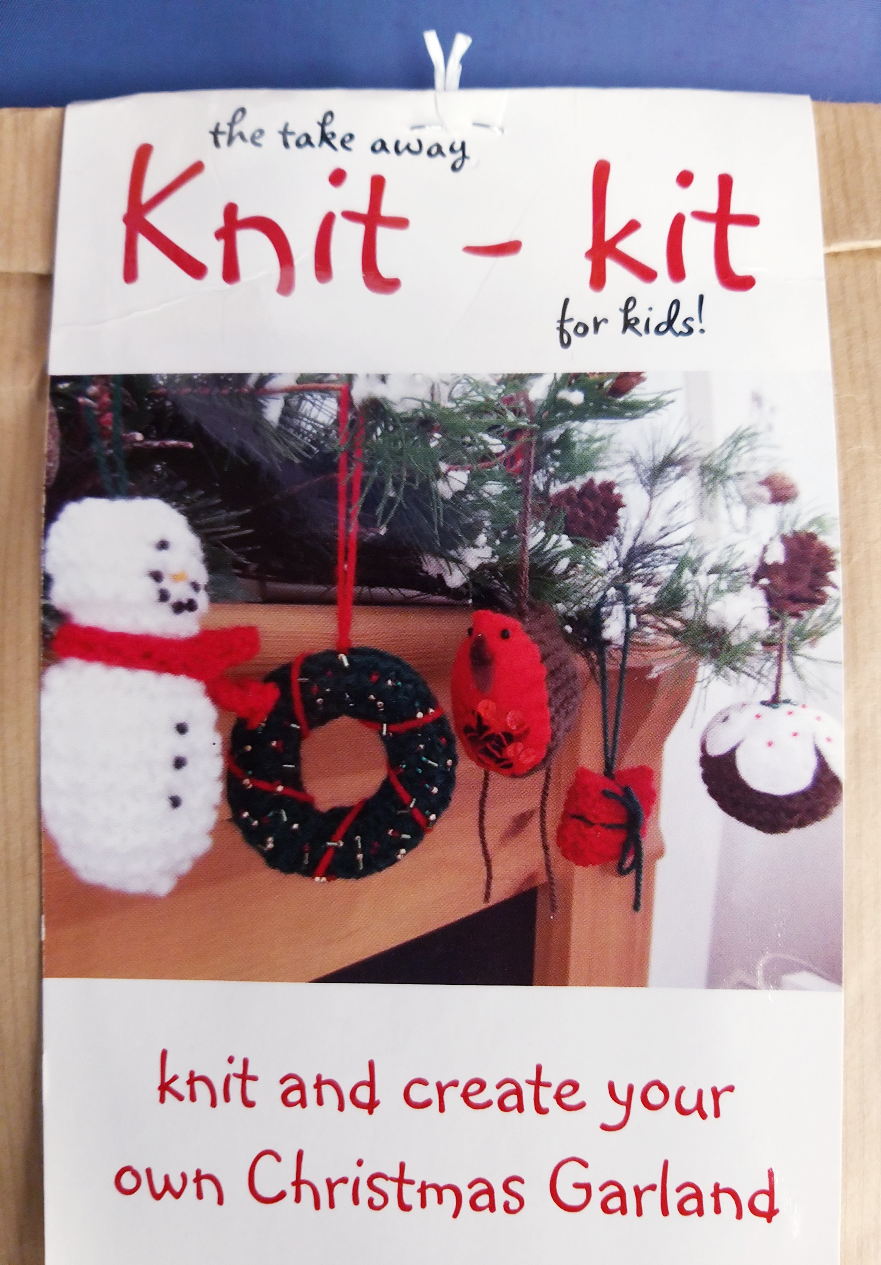 Christmas Decoration Knit Kit