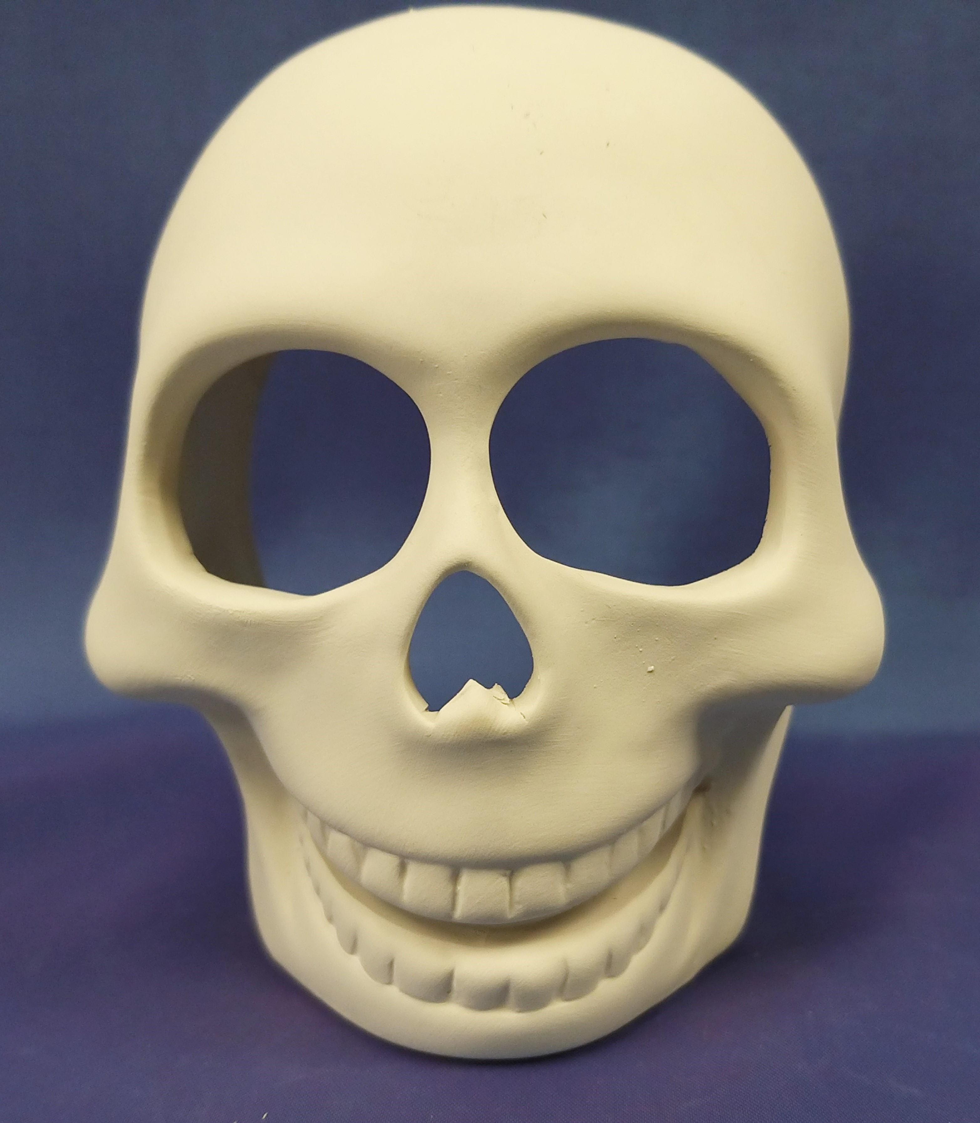 Sugar Skull (T-light hole in head)