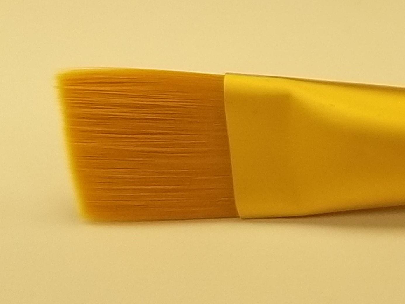 Large Square Flat Brush (Soft-grip)