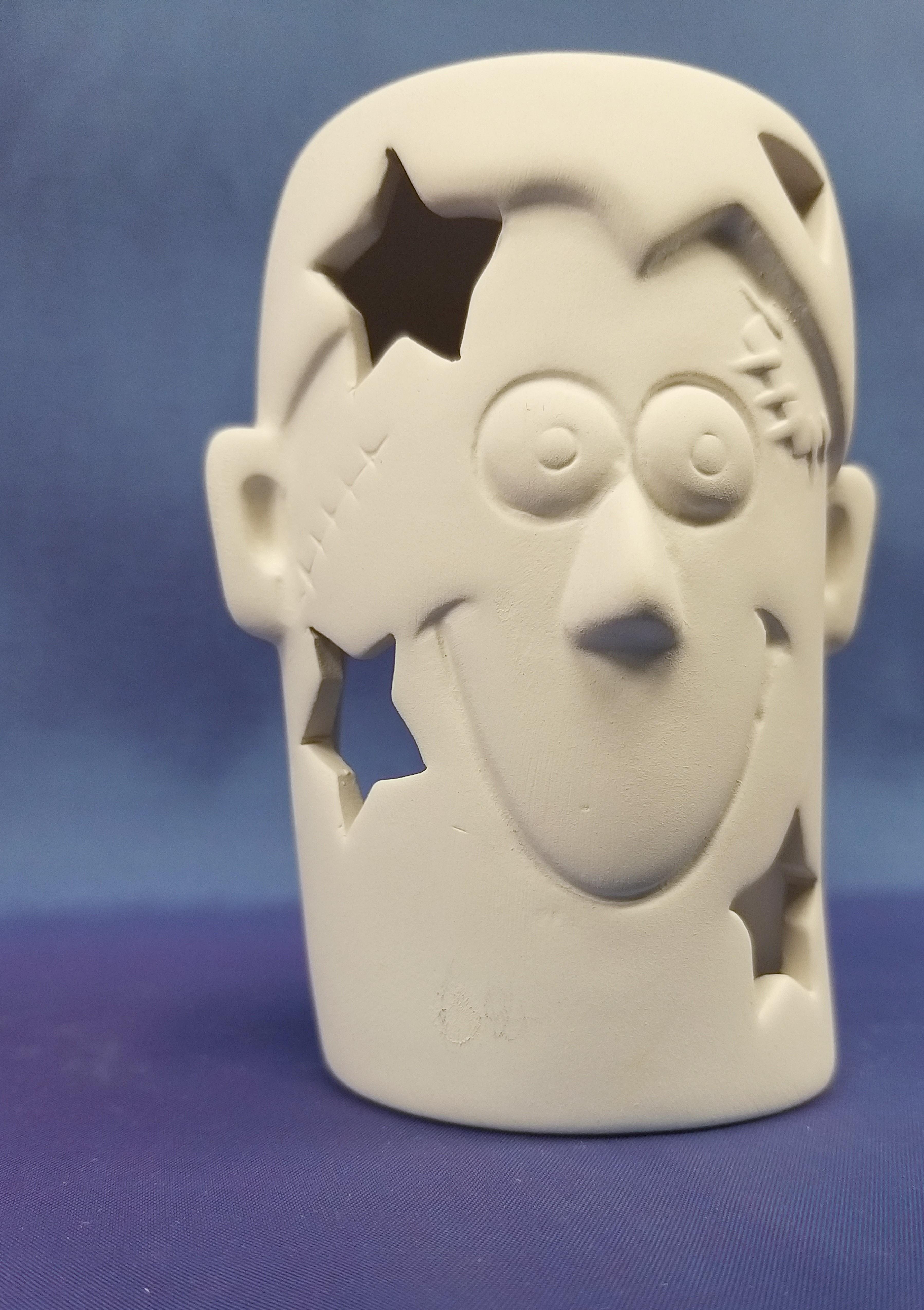 Frankenstein (T-light holder)