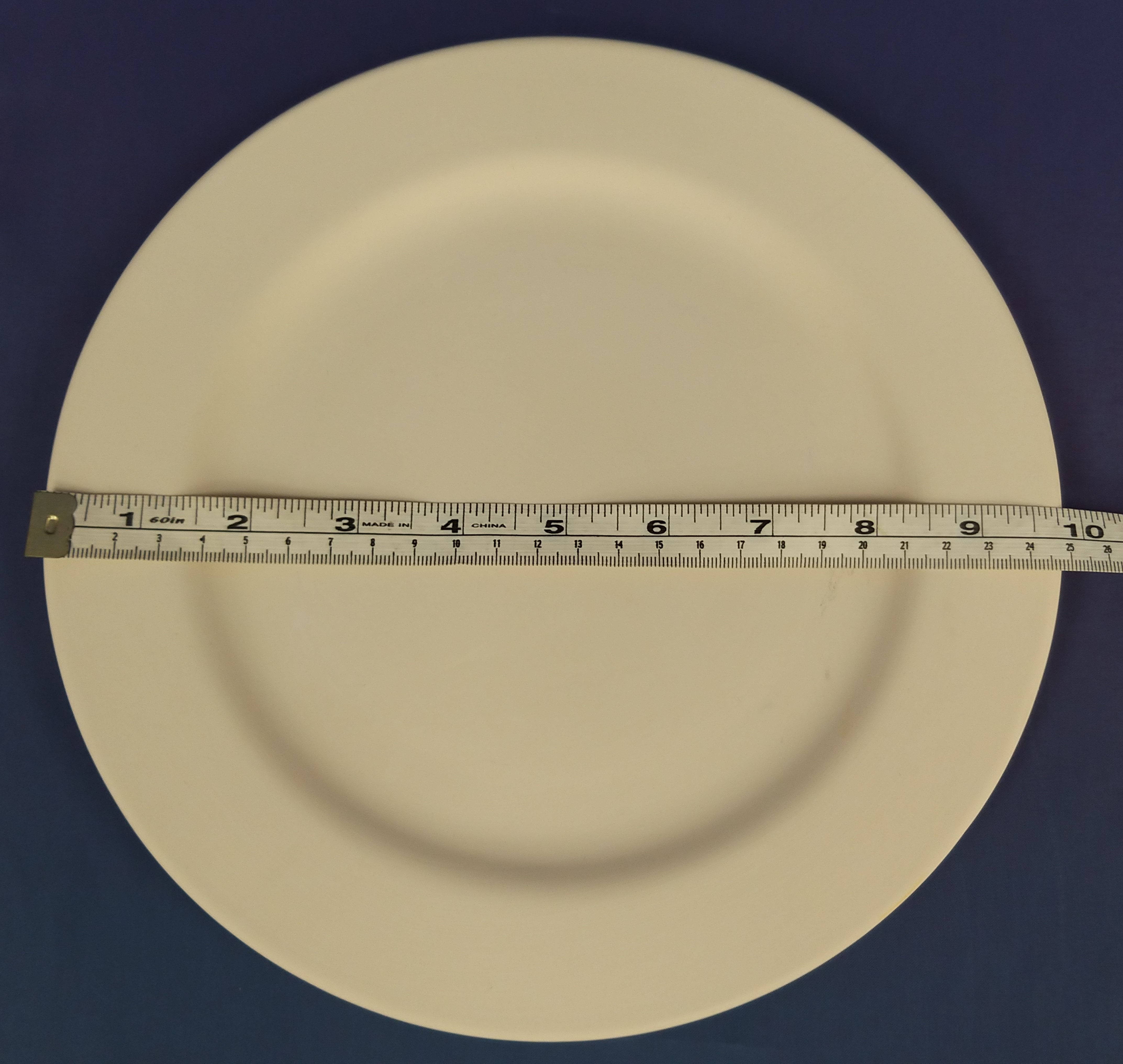Plate with Rim (Dinner)