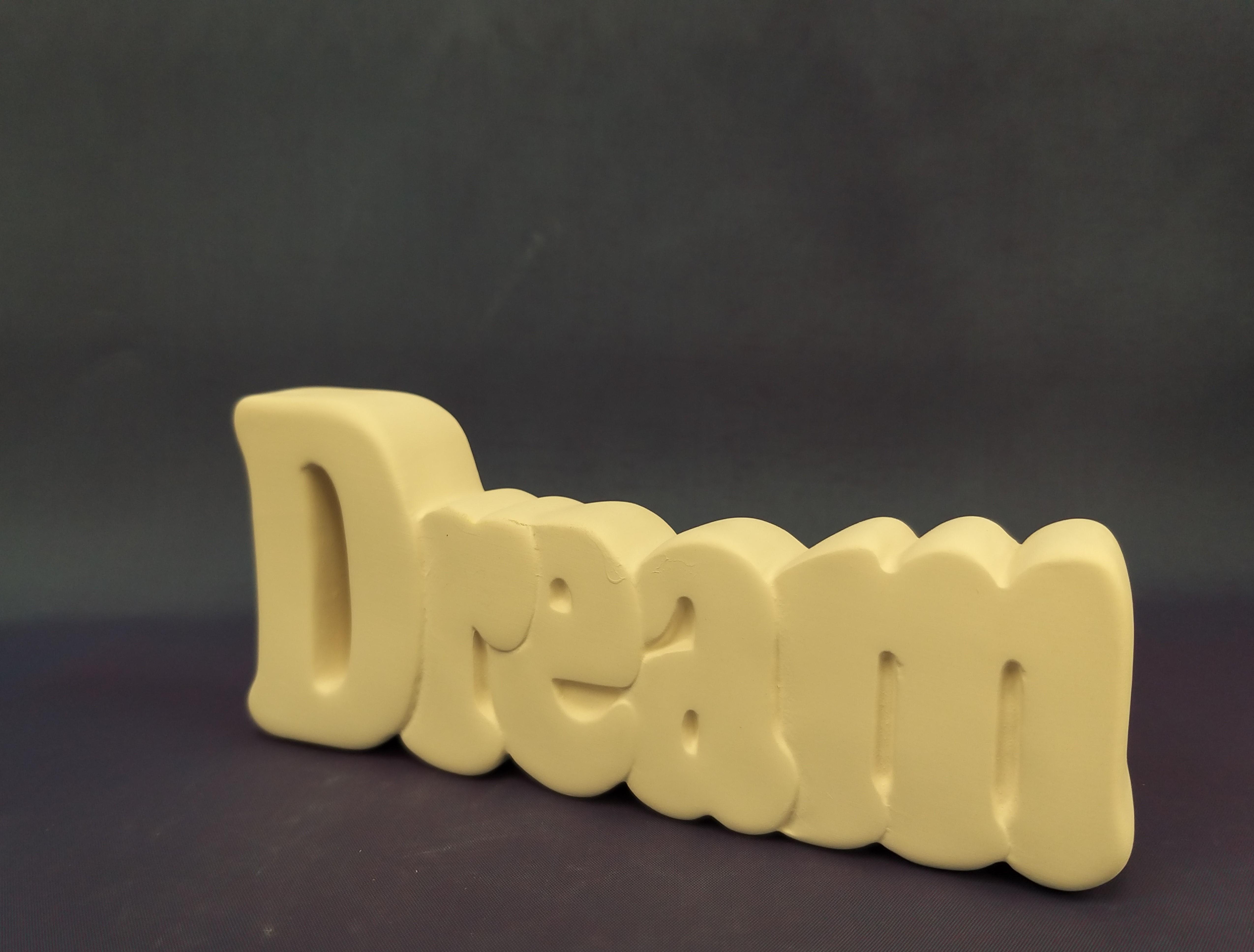 Small Dream Plaque