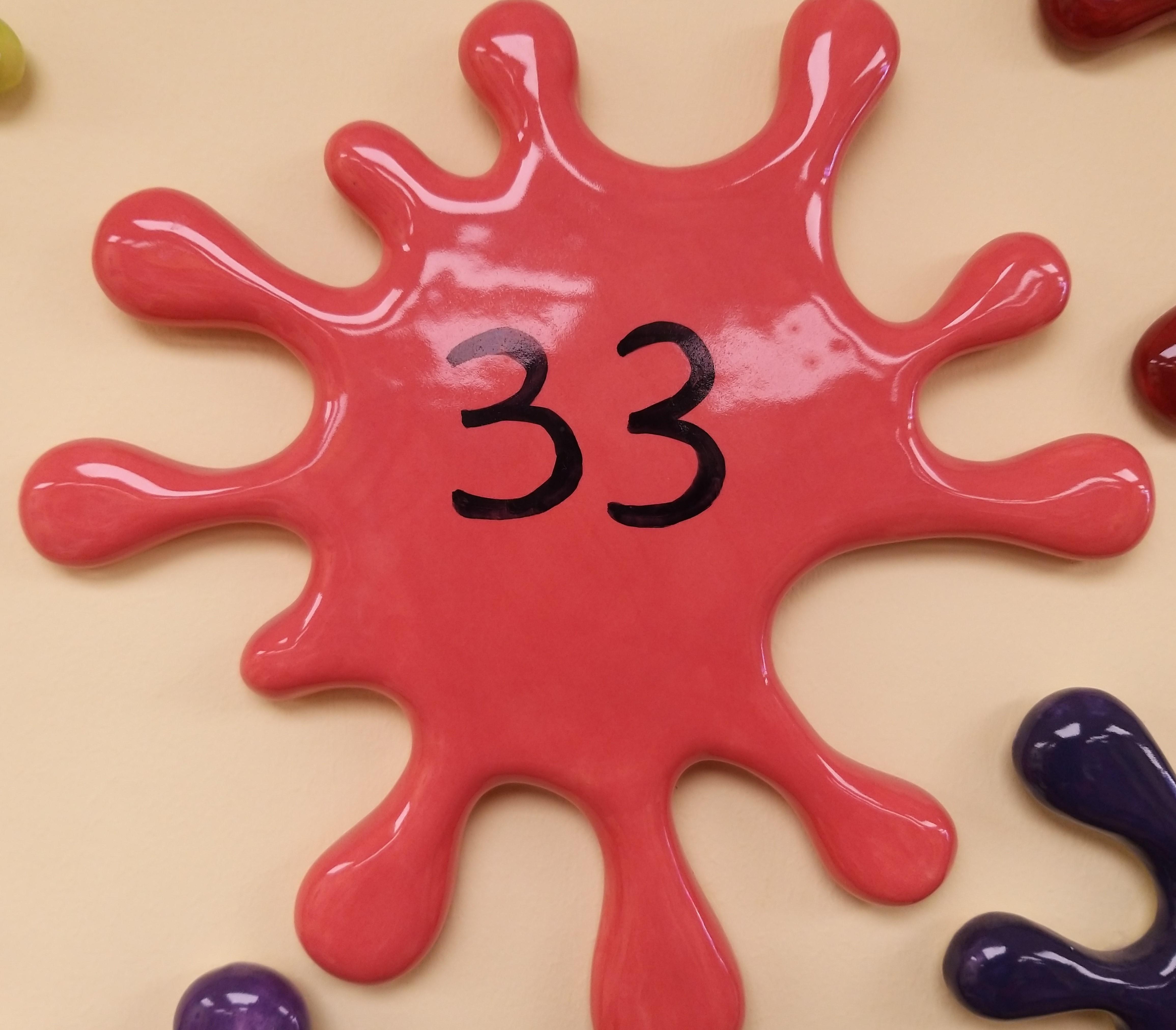 33. Bright Coral