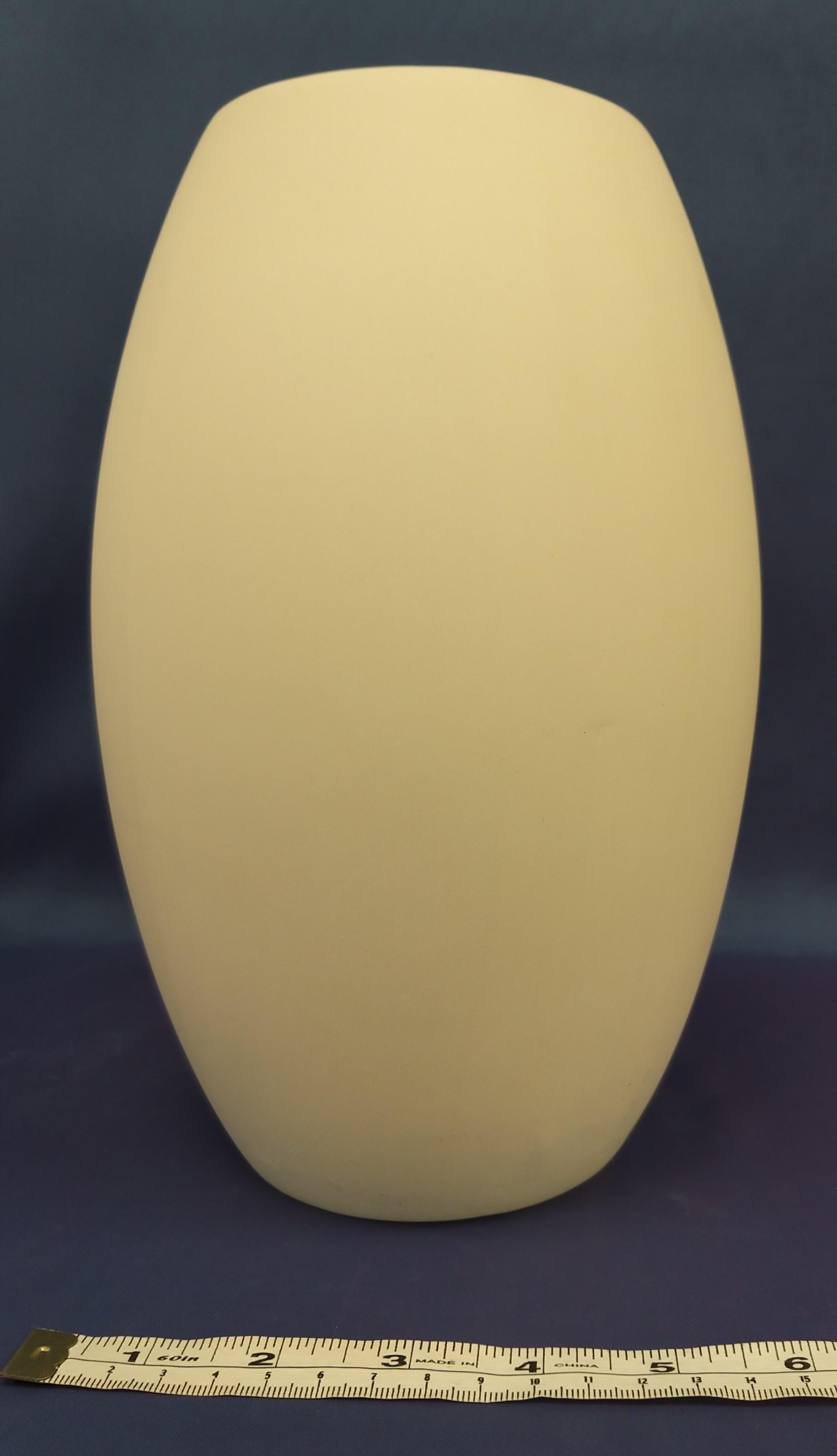Large Bulbous Vase (Clear glaze inside)