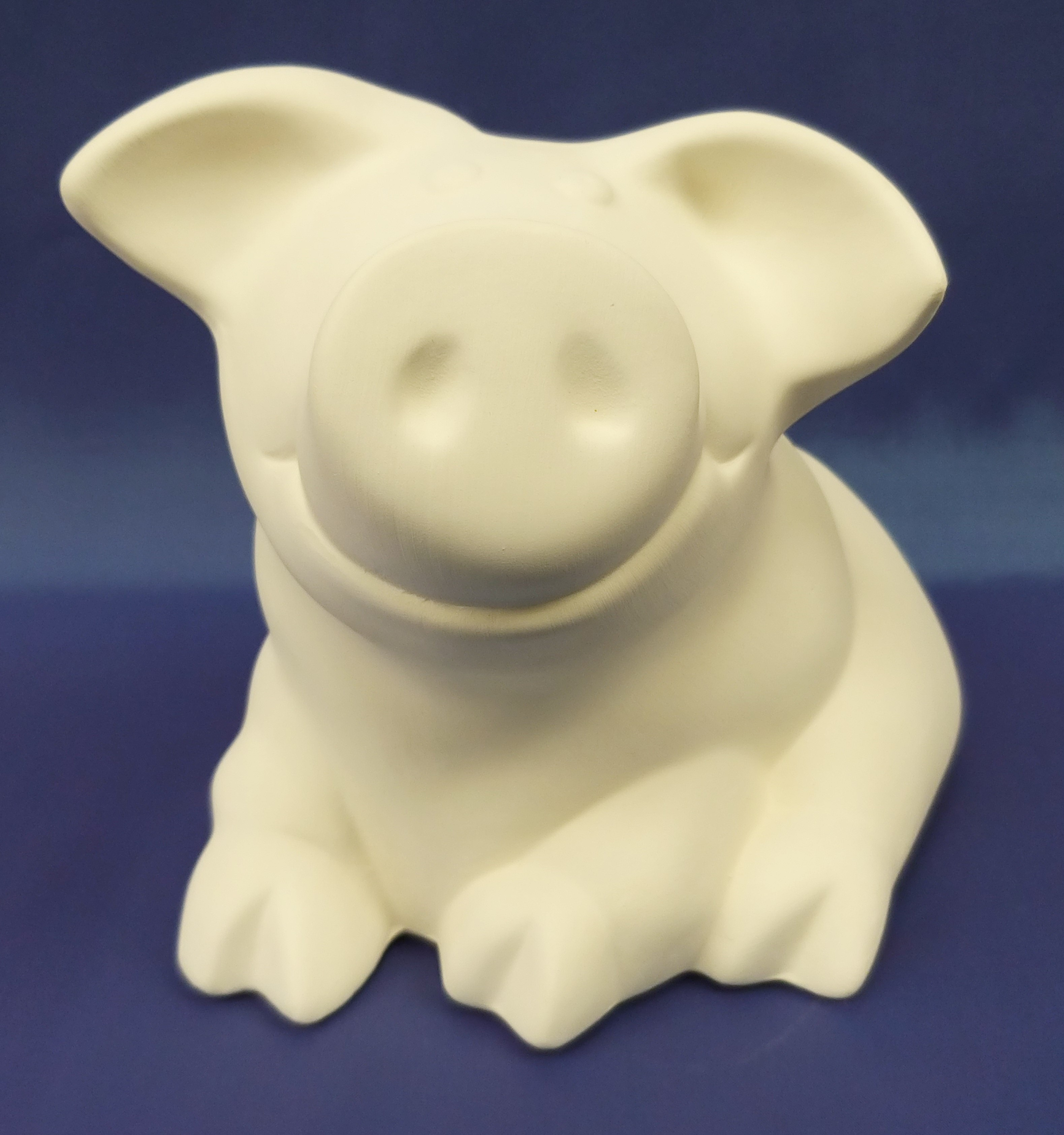 Happy as a Pig in Mud Piggy Bank (Sitting)