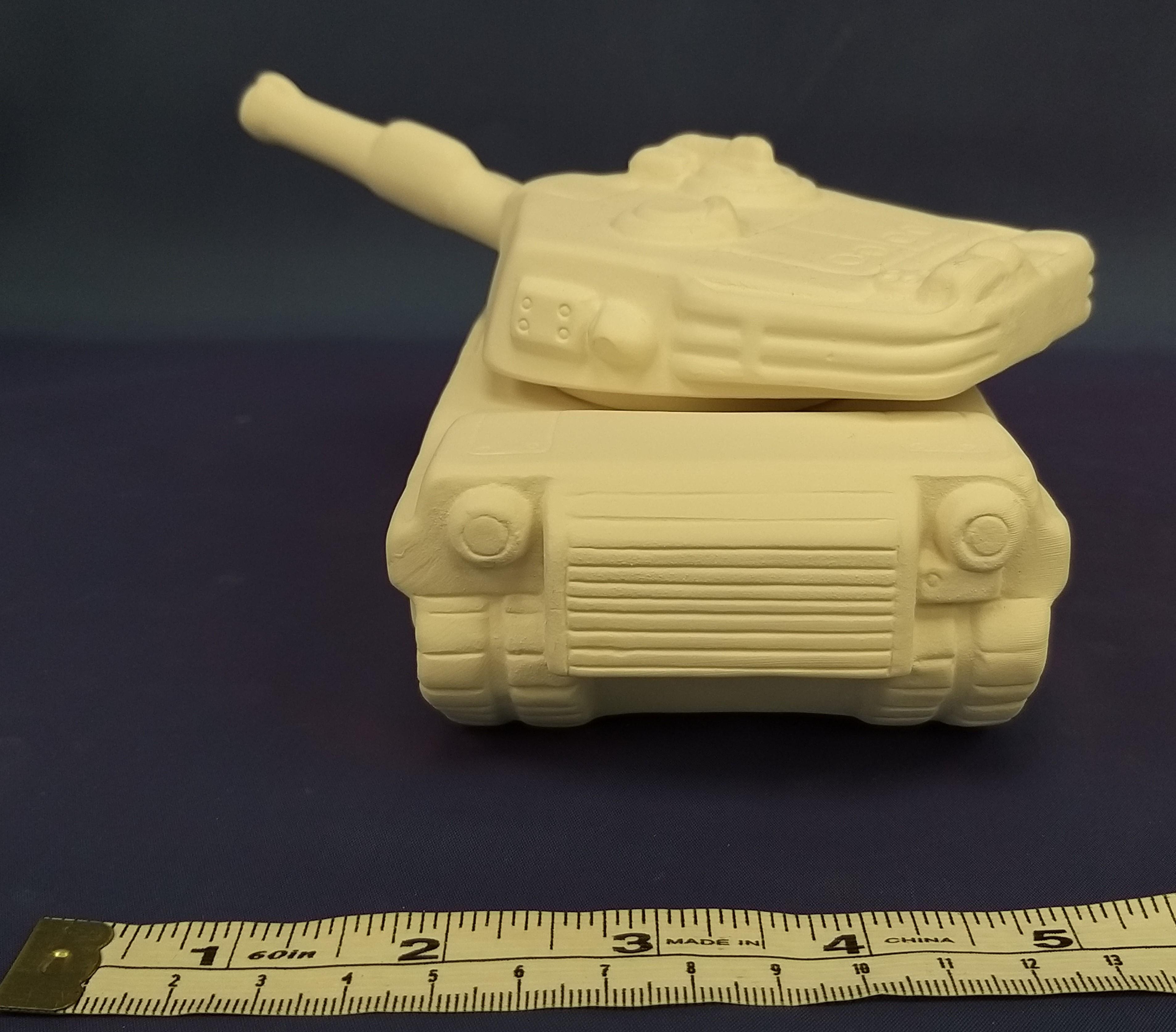 Army Tank (Trinket Box)
