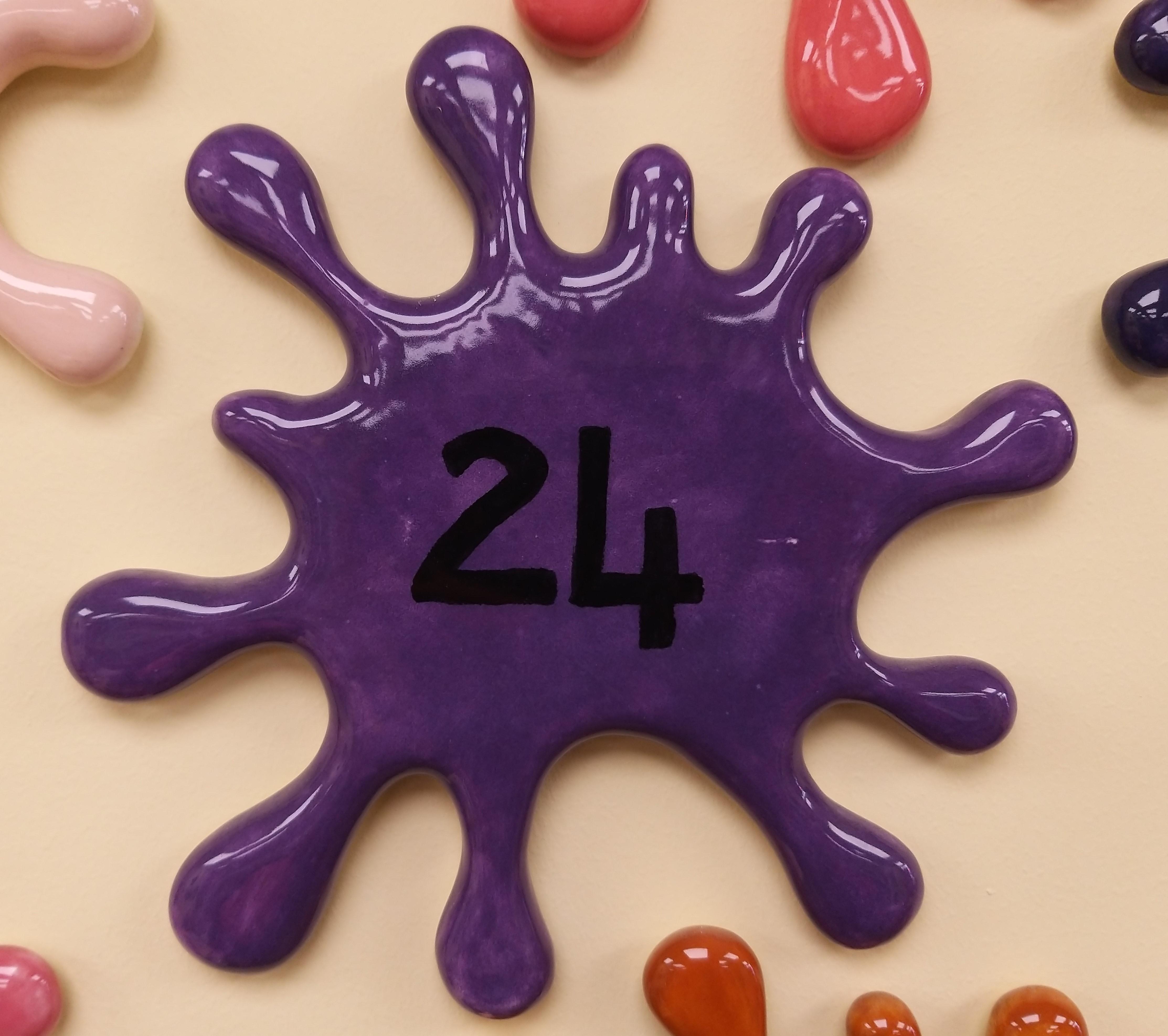24. Bright Purple