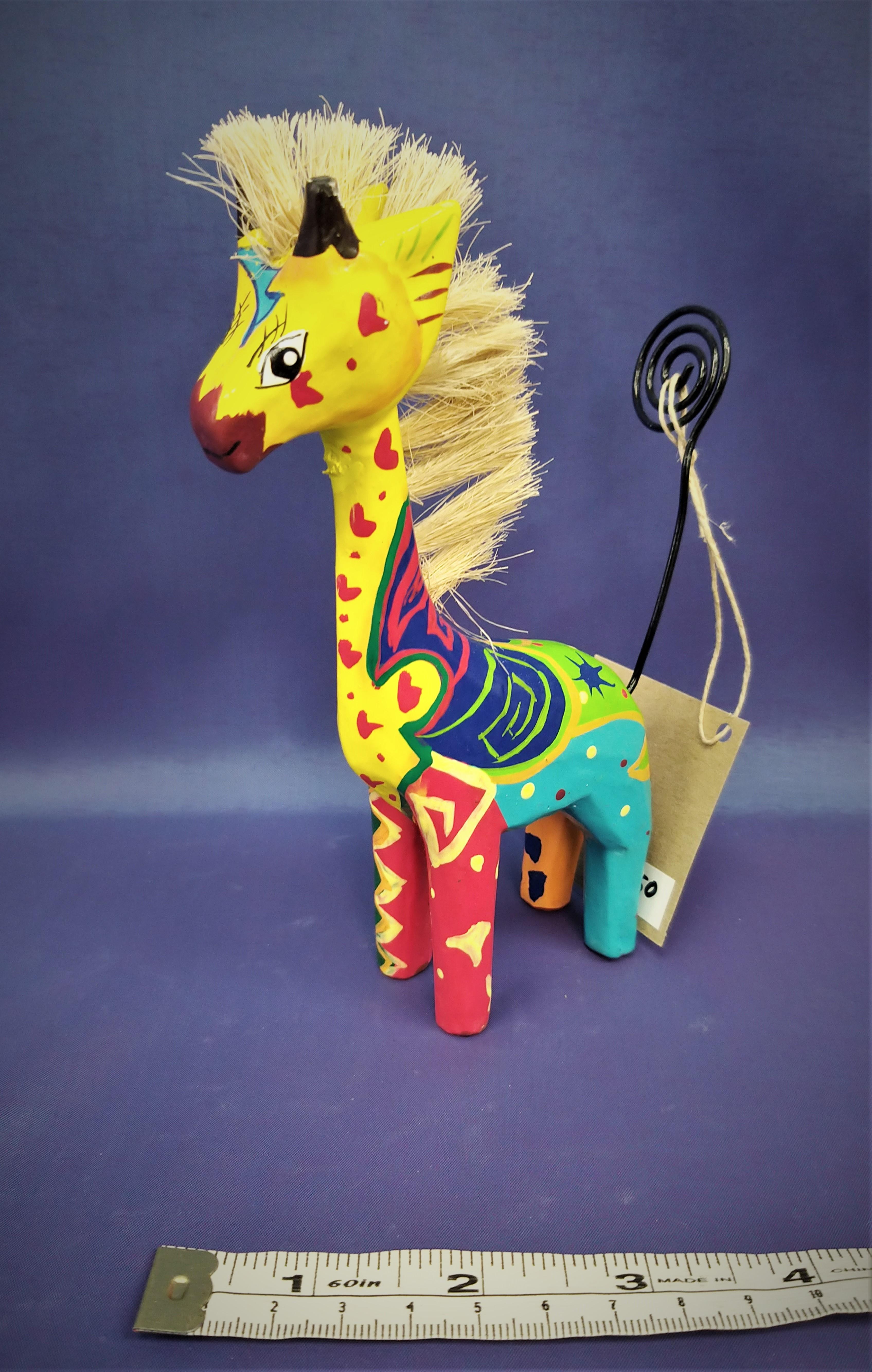 Quirky Giraffe Photo Holder