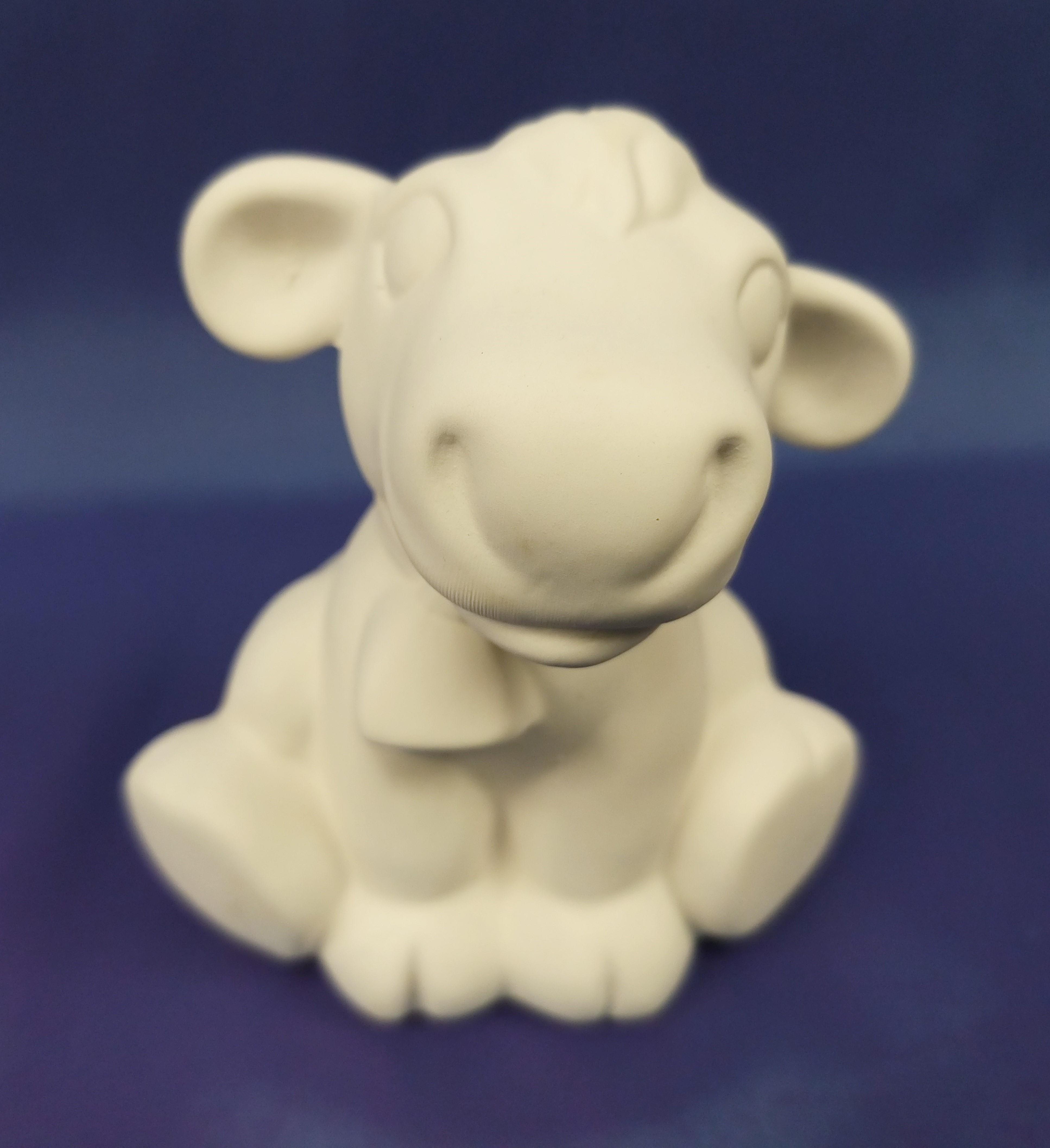 Cute Cow (Sitting)