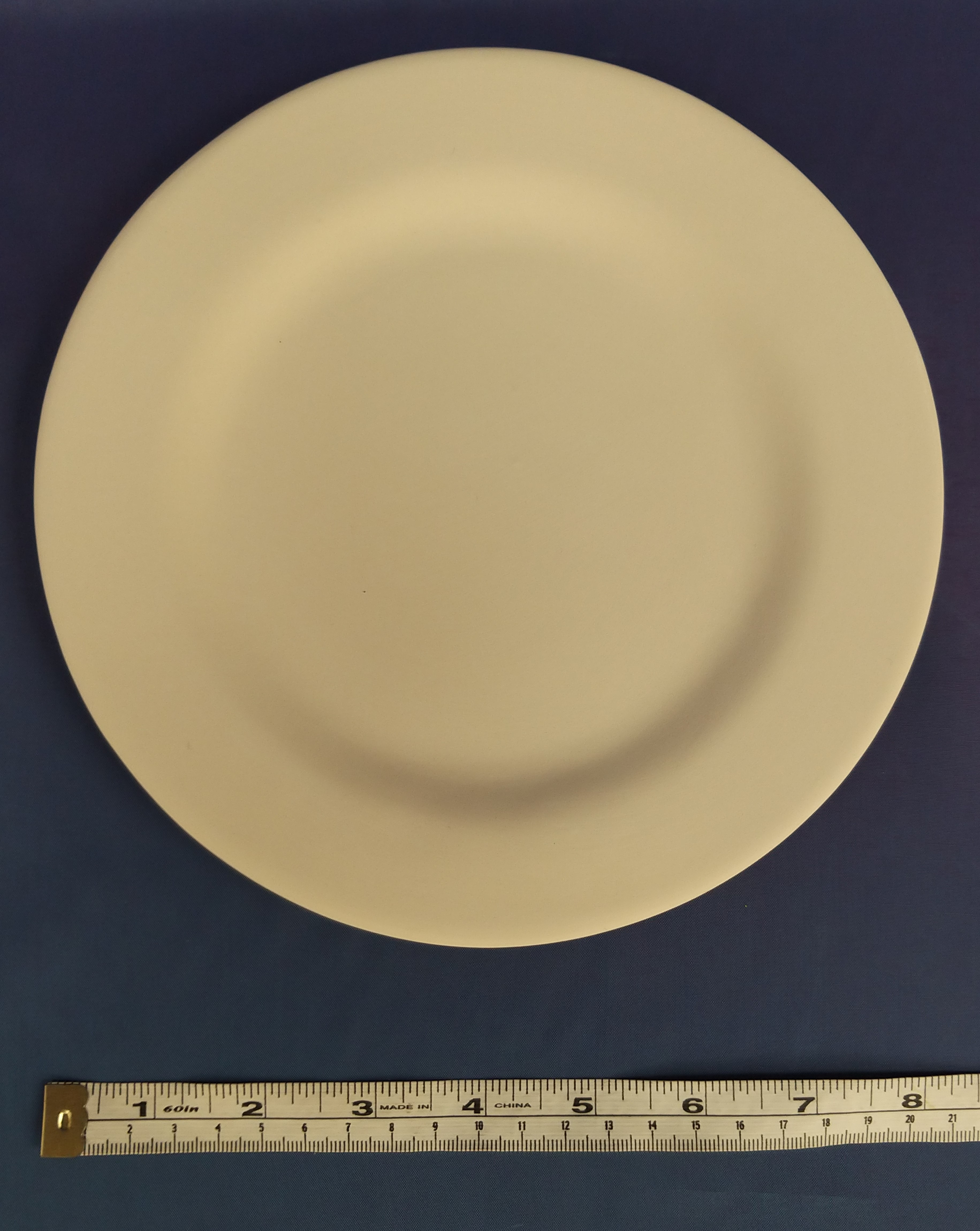 Plate with Rim (Side)