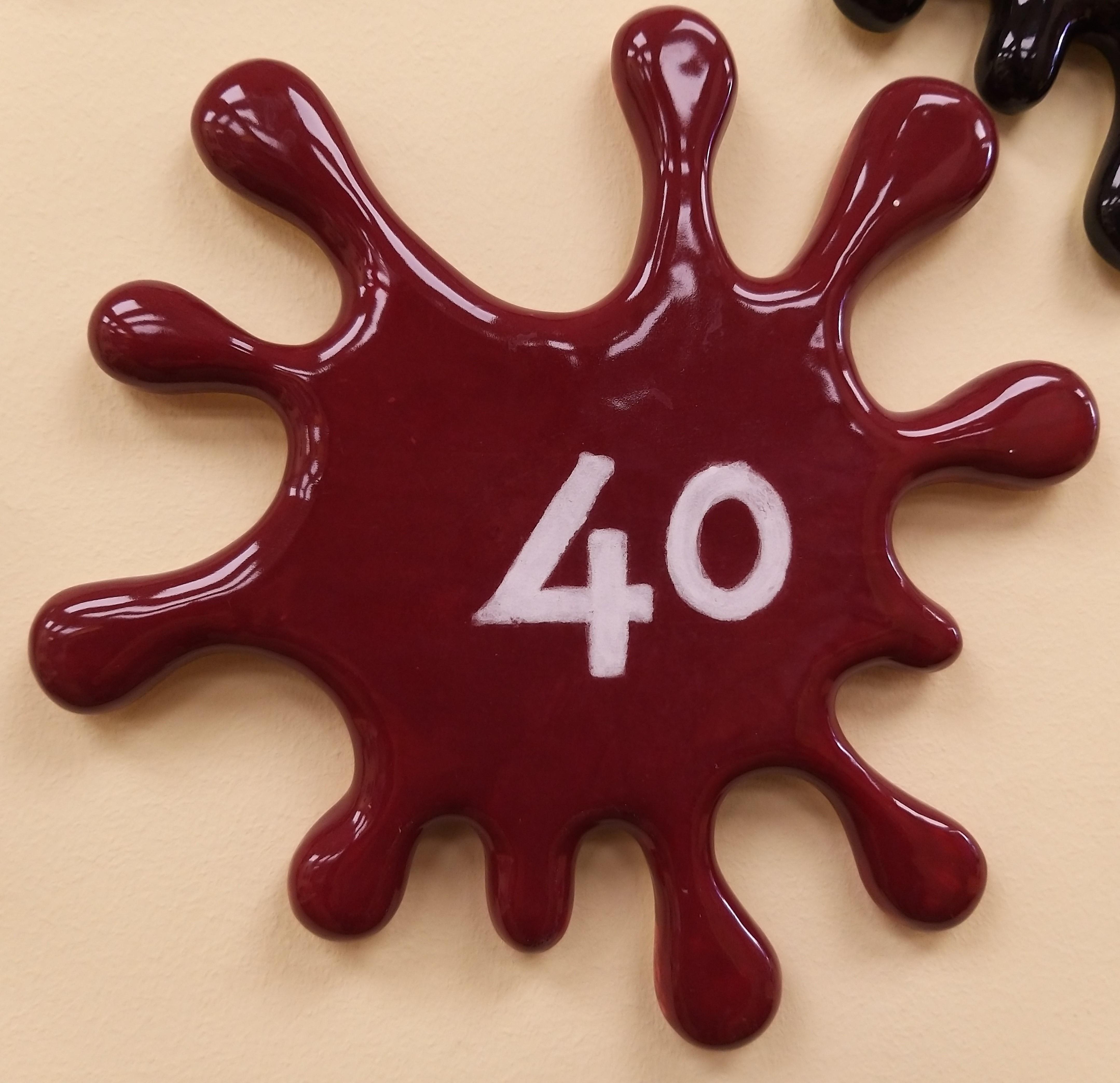 40. Deep Maroon