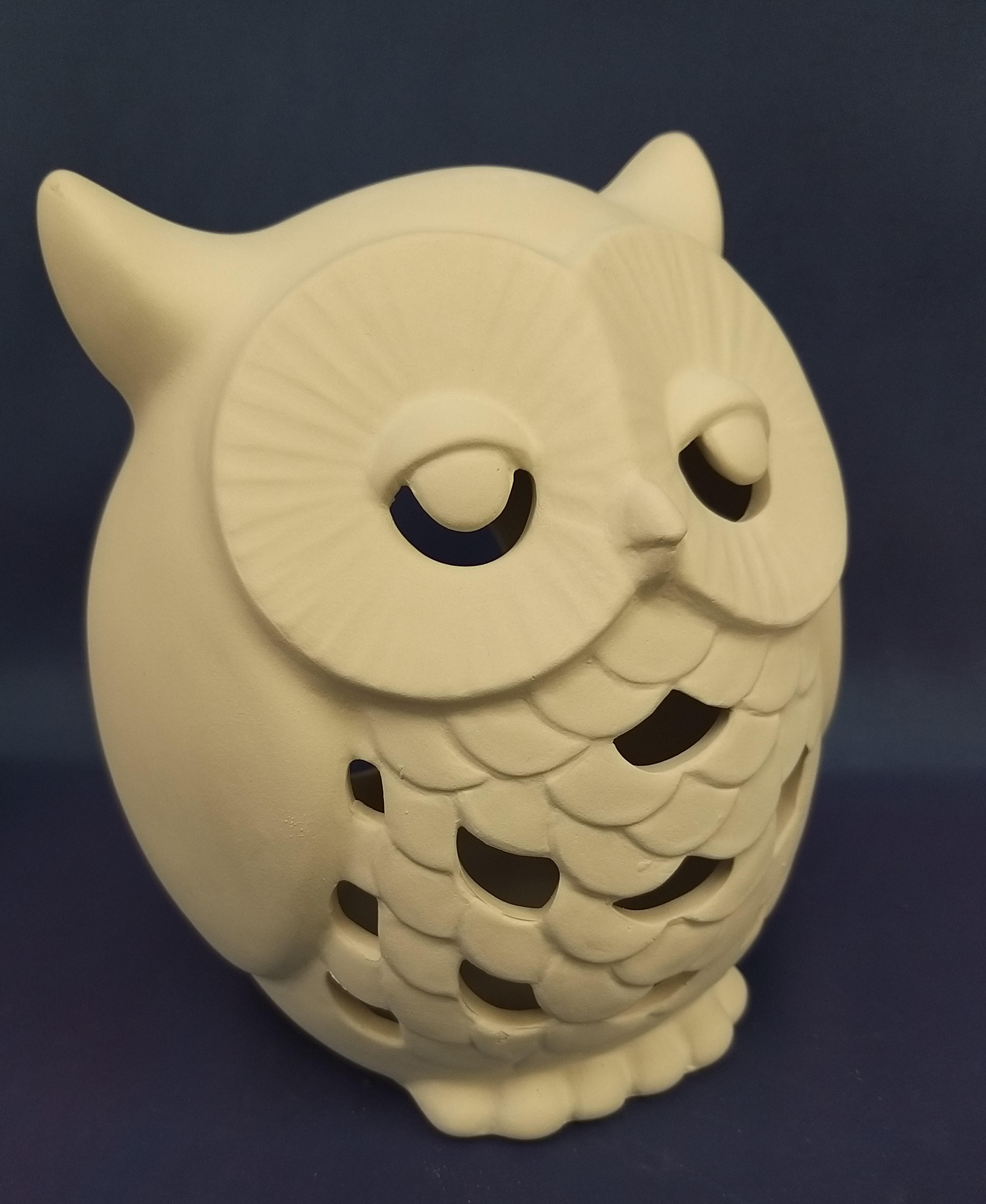 Large Owl Lantern
