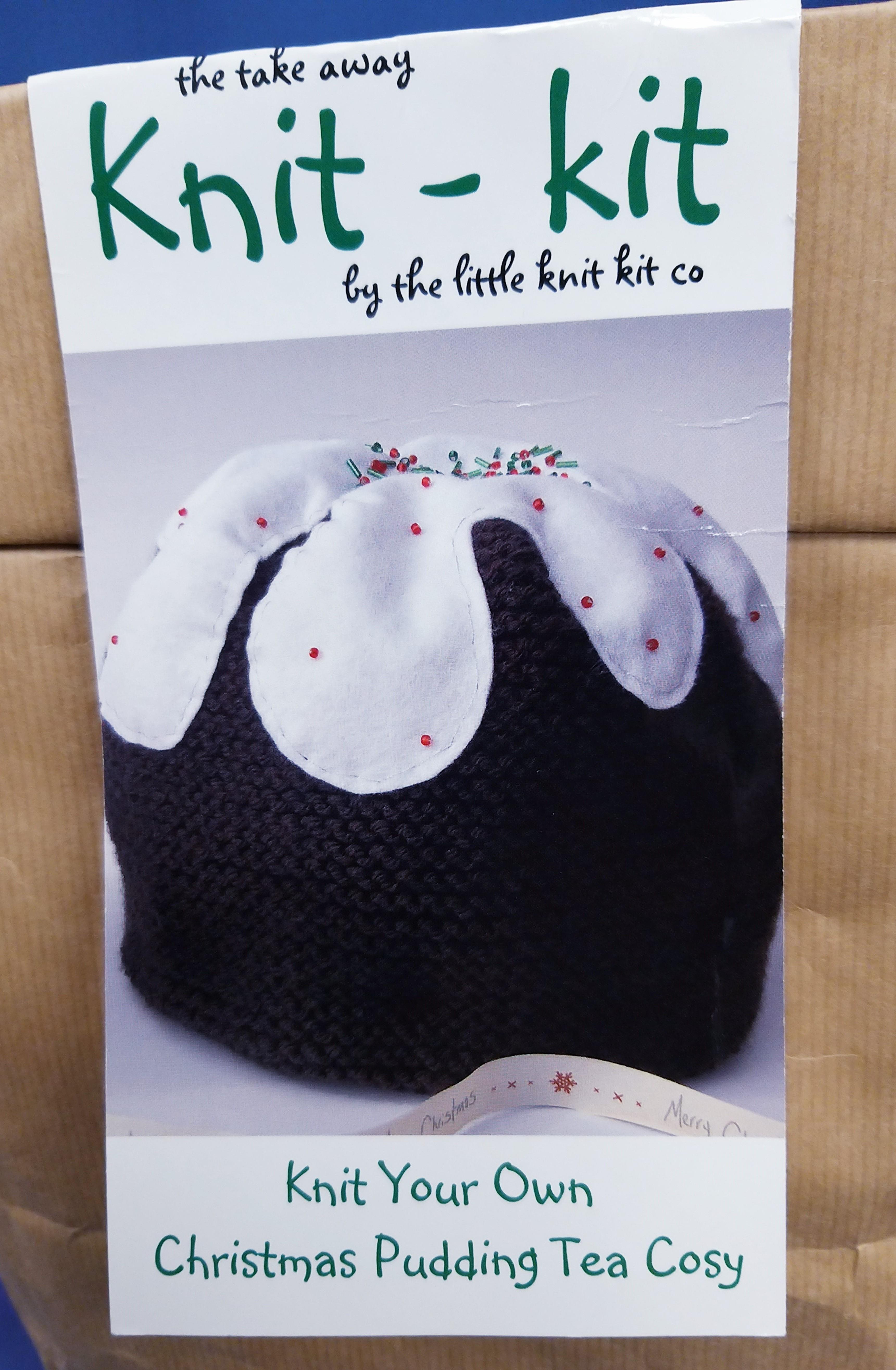 Christmas Pudding Tea Cosy Knit Kit