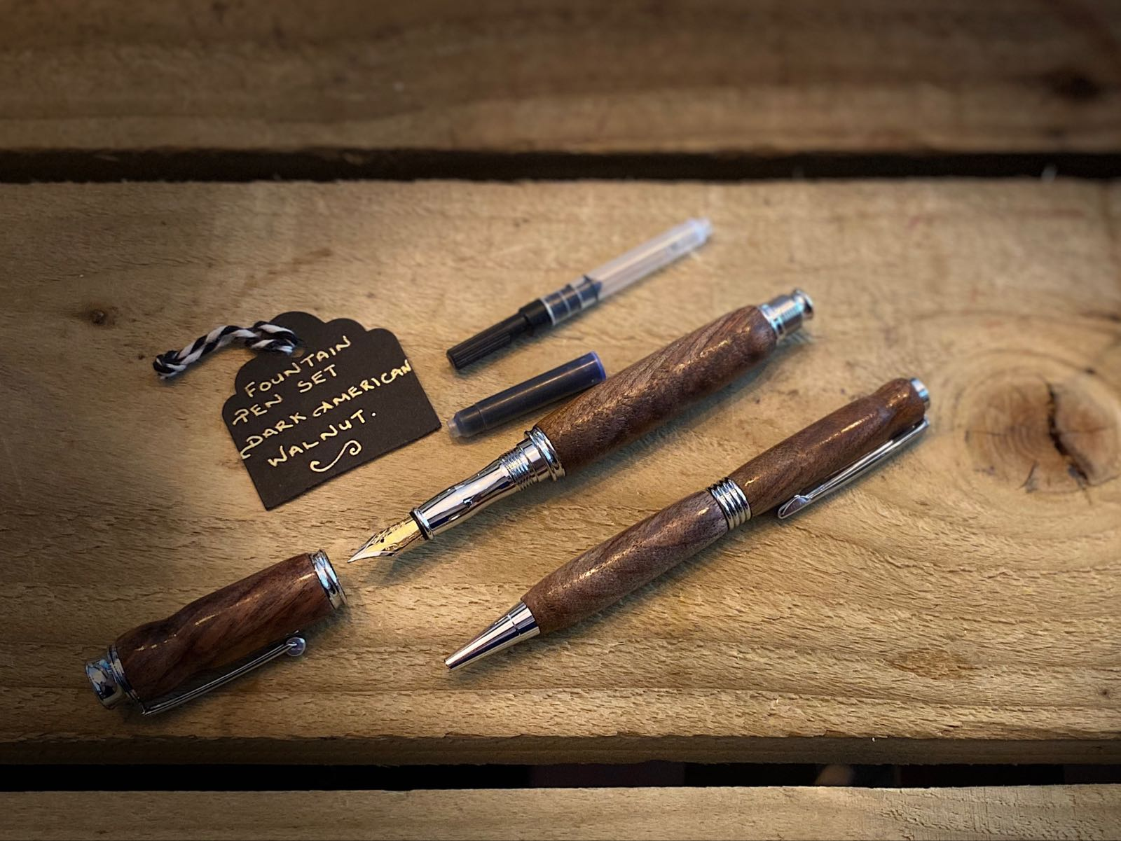 Handmade Fountain Pen Set