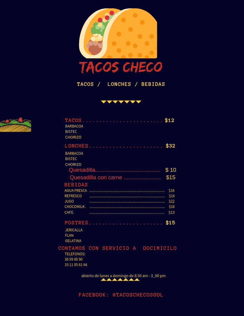 Tacos Checo Gdl