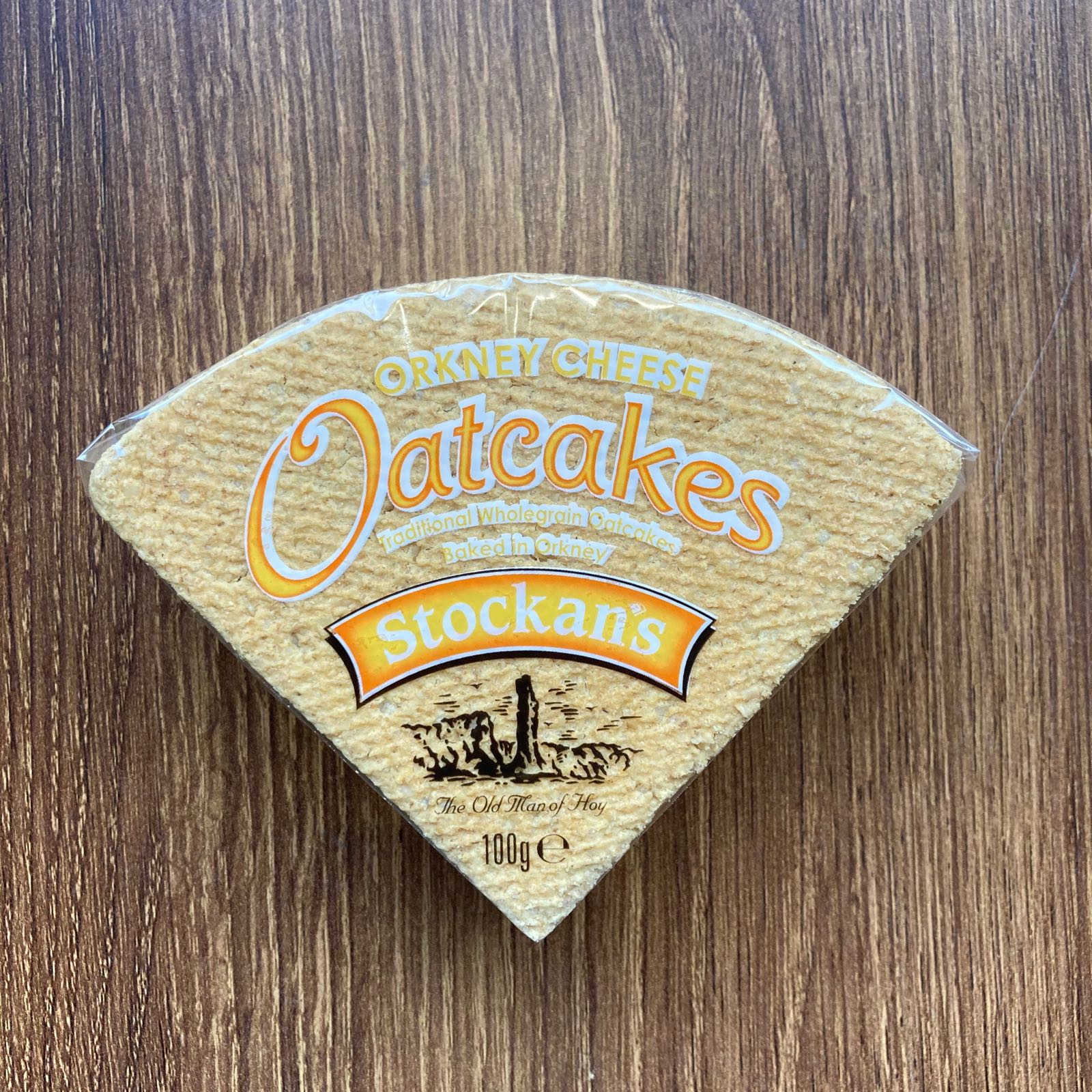 Stockan's Orkney Cheese Oatcakes