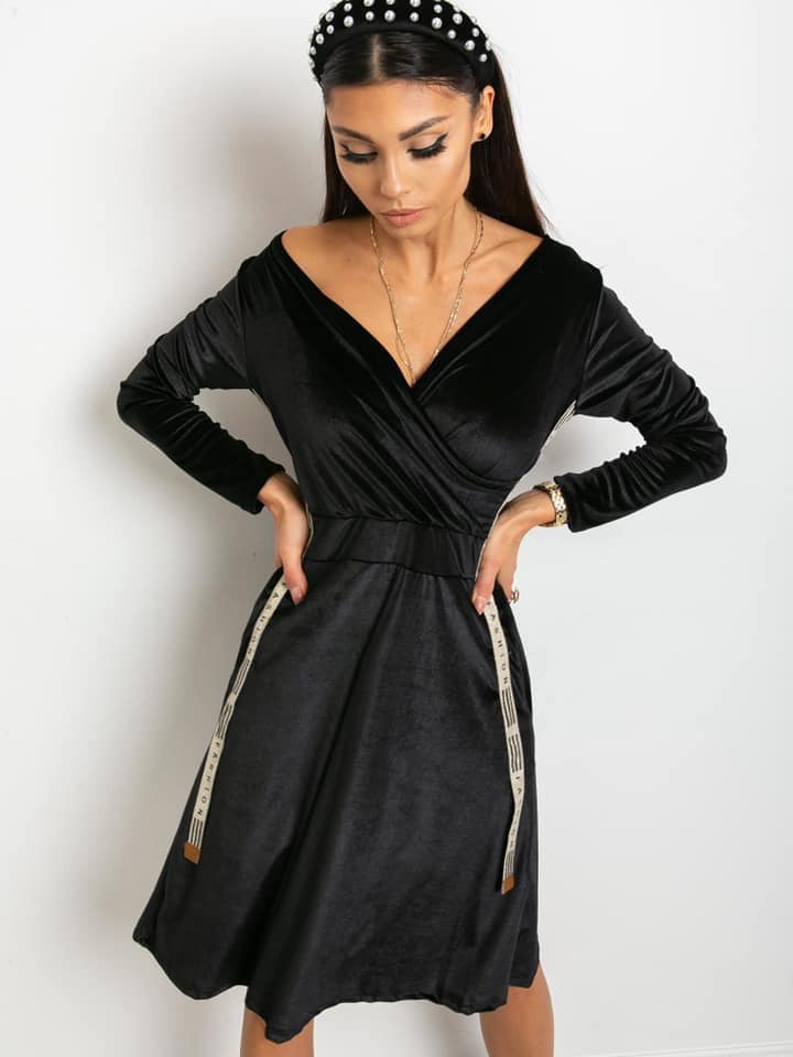 Velur Dress