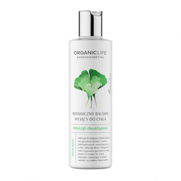 Body wash lotion, ginkgo biloba