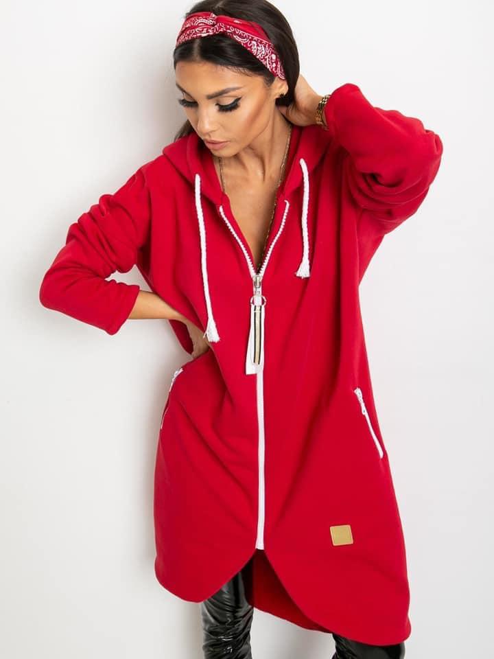 Cosy zip up hoodie
