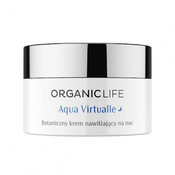 Aqua Virtualle moisturizing botanical night cream