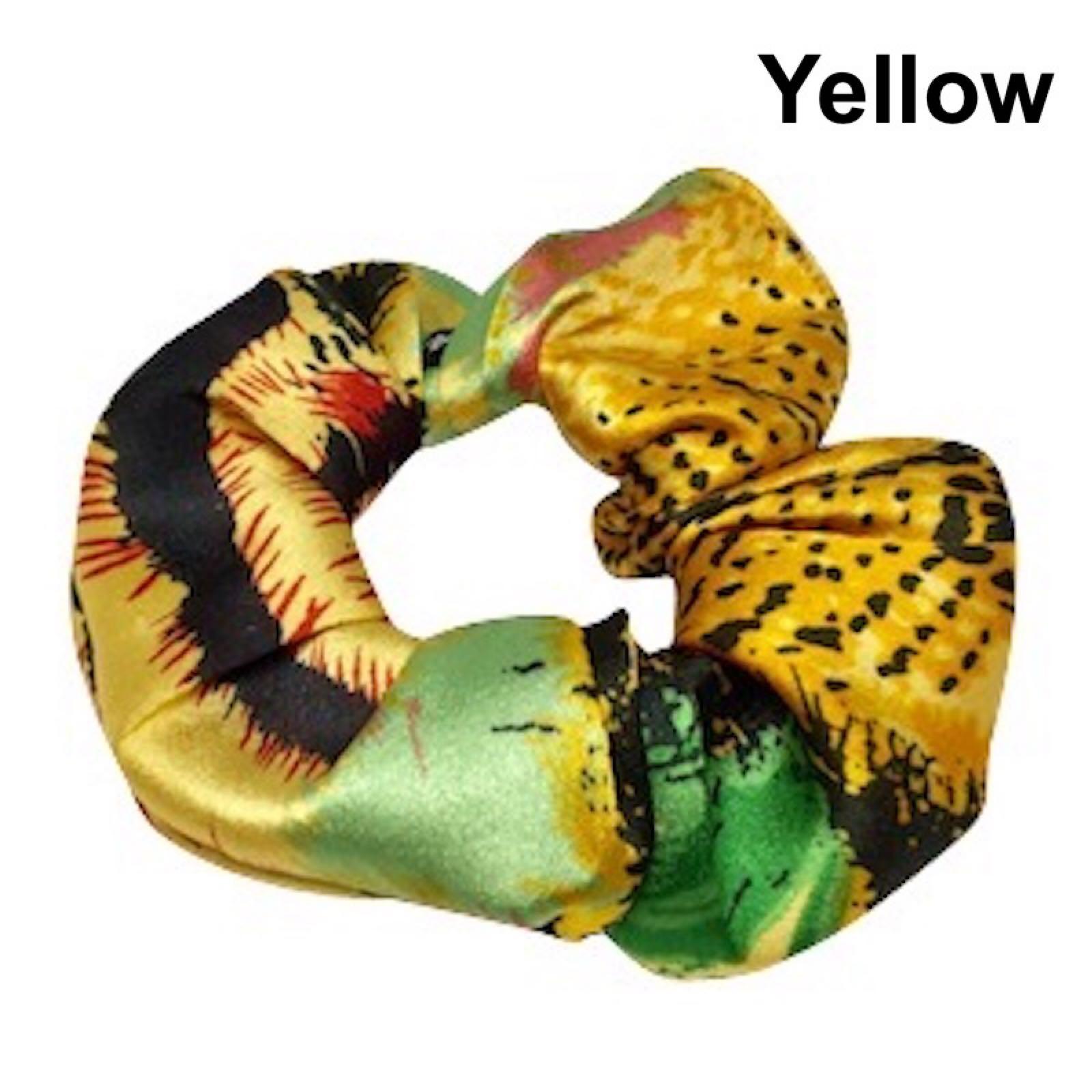 Scrunchie, Yellow