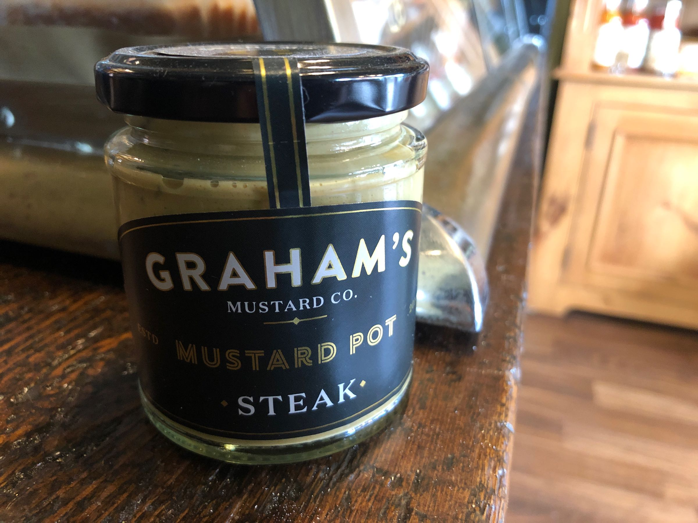 Graham's Steak Mustard 215g