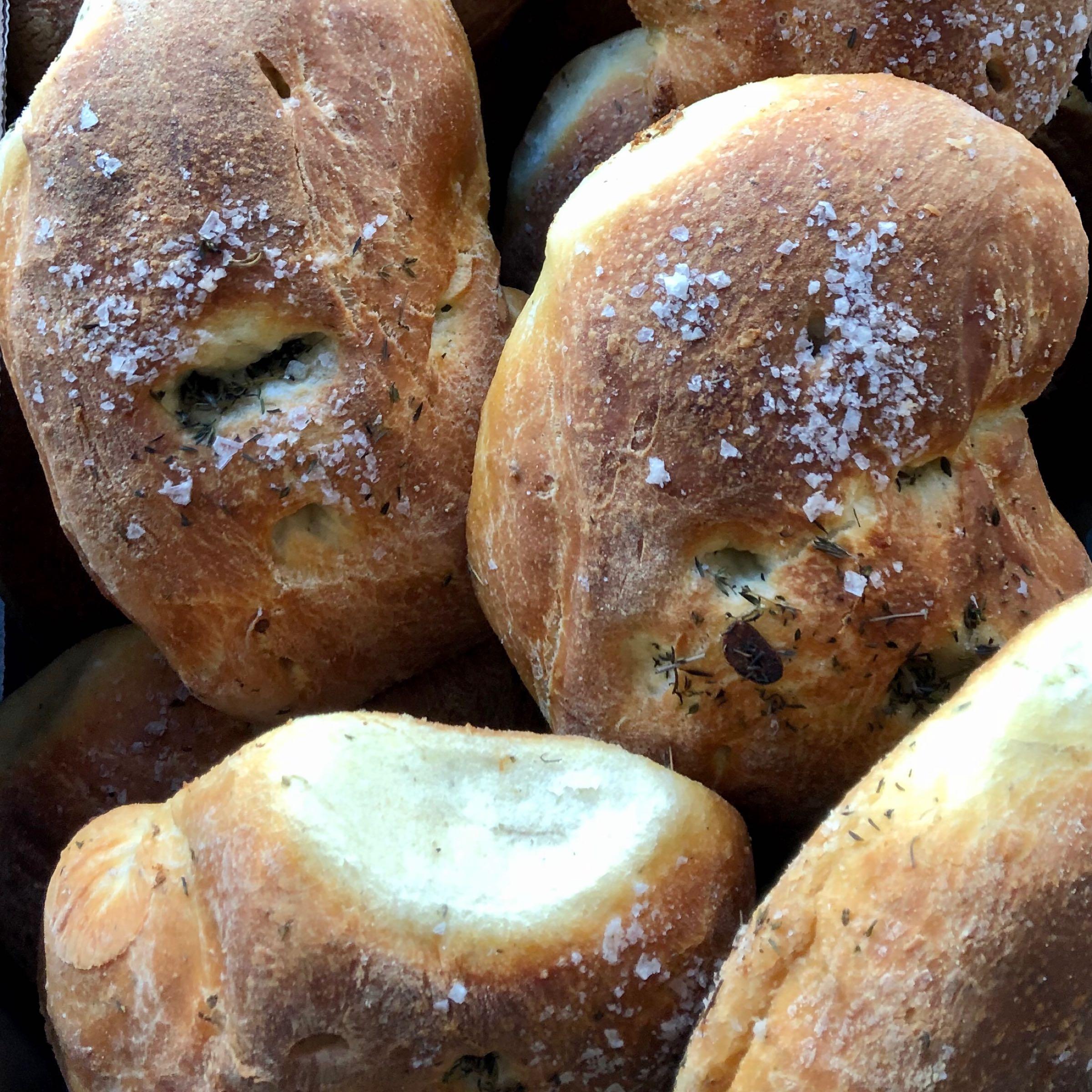 Garlic & Thyme Focaccia