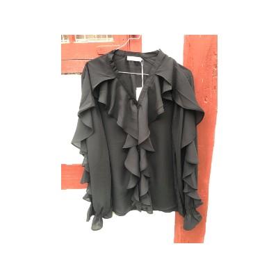 Frills Bluse fra DNY DN5023