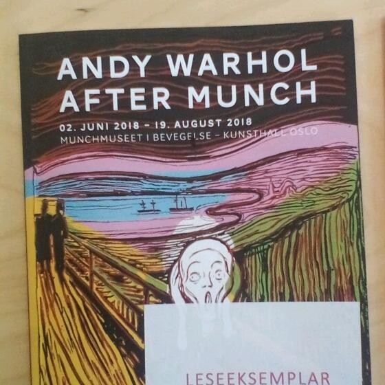 Catalogue: Warhol - After Munch