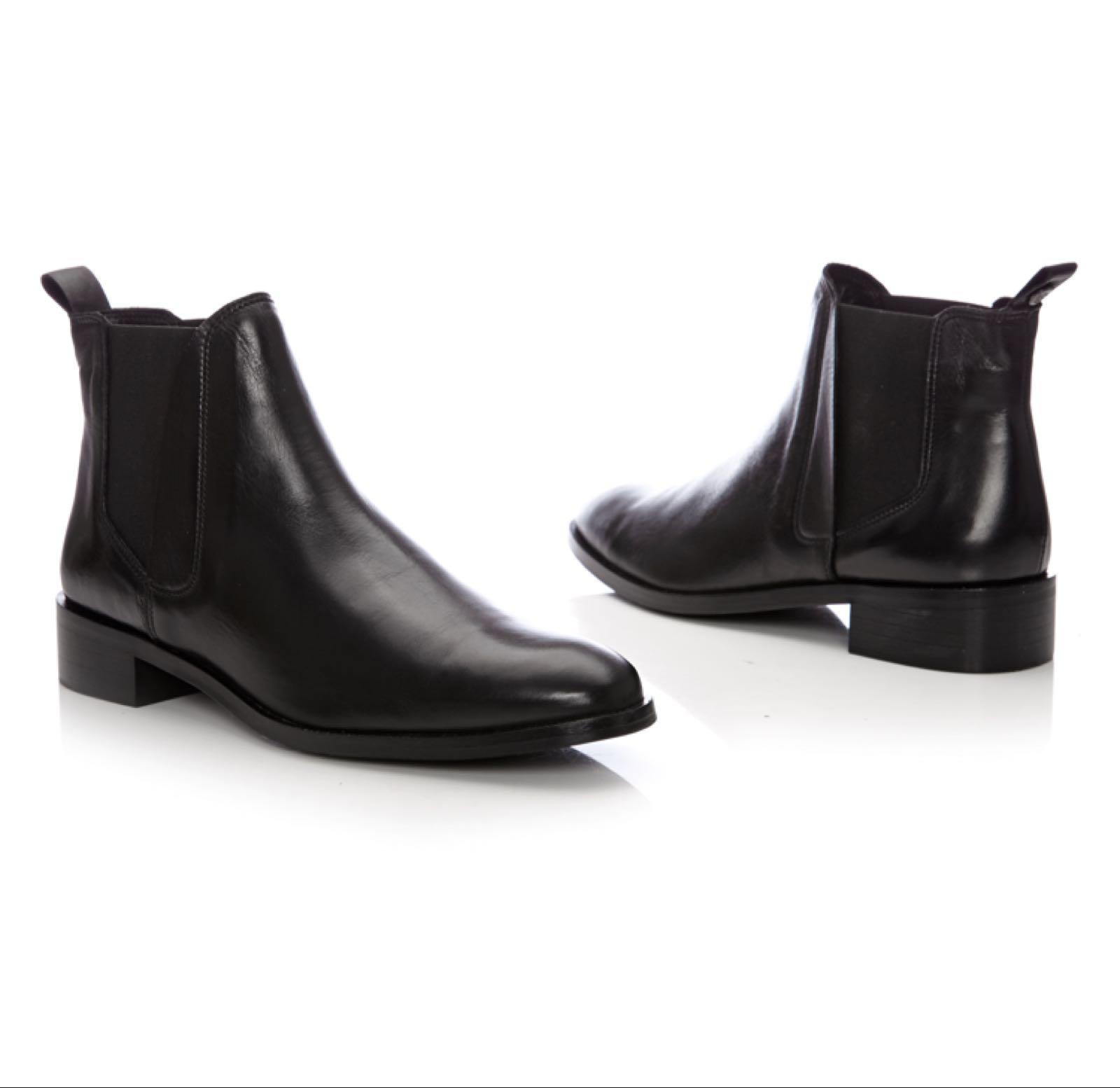 Moda in Pelle Amettio Black Leather
