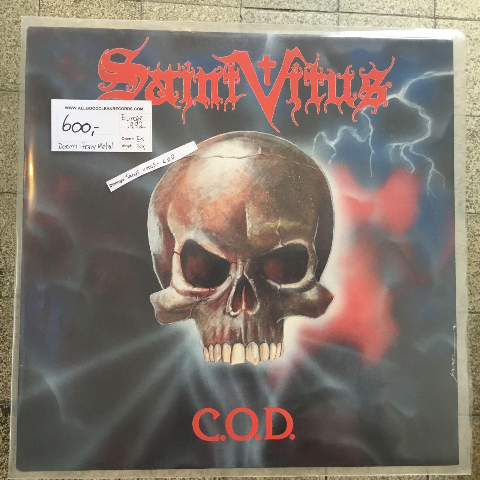 Saint Vitus – C.O.D. [LP] (2. hand)