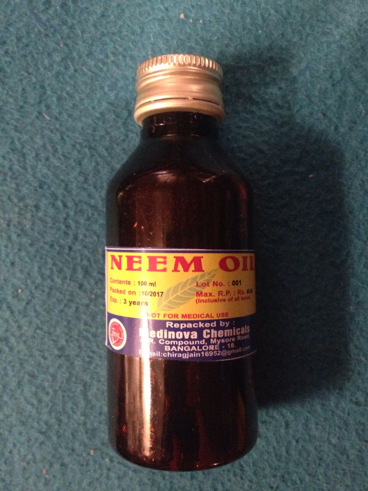Indisk Skjønnhet - Neem Olje, 100 ml