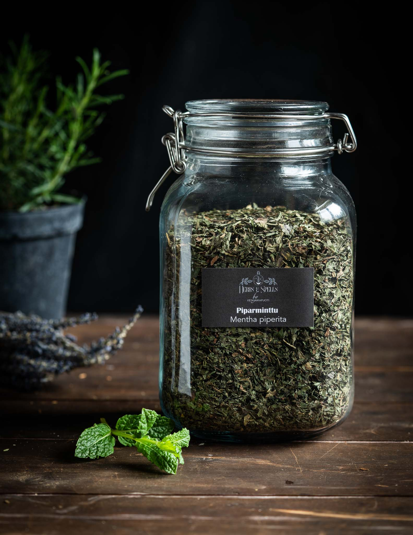 Piparminttu - Mentha x piperita (Herbs&Spell by keskiaikapuoti)