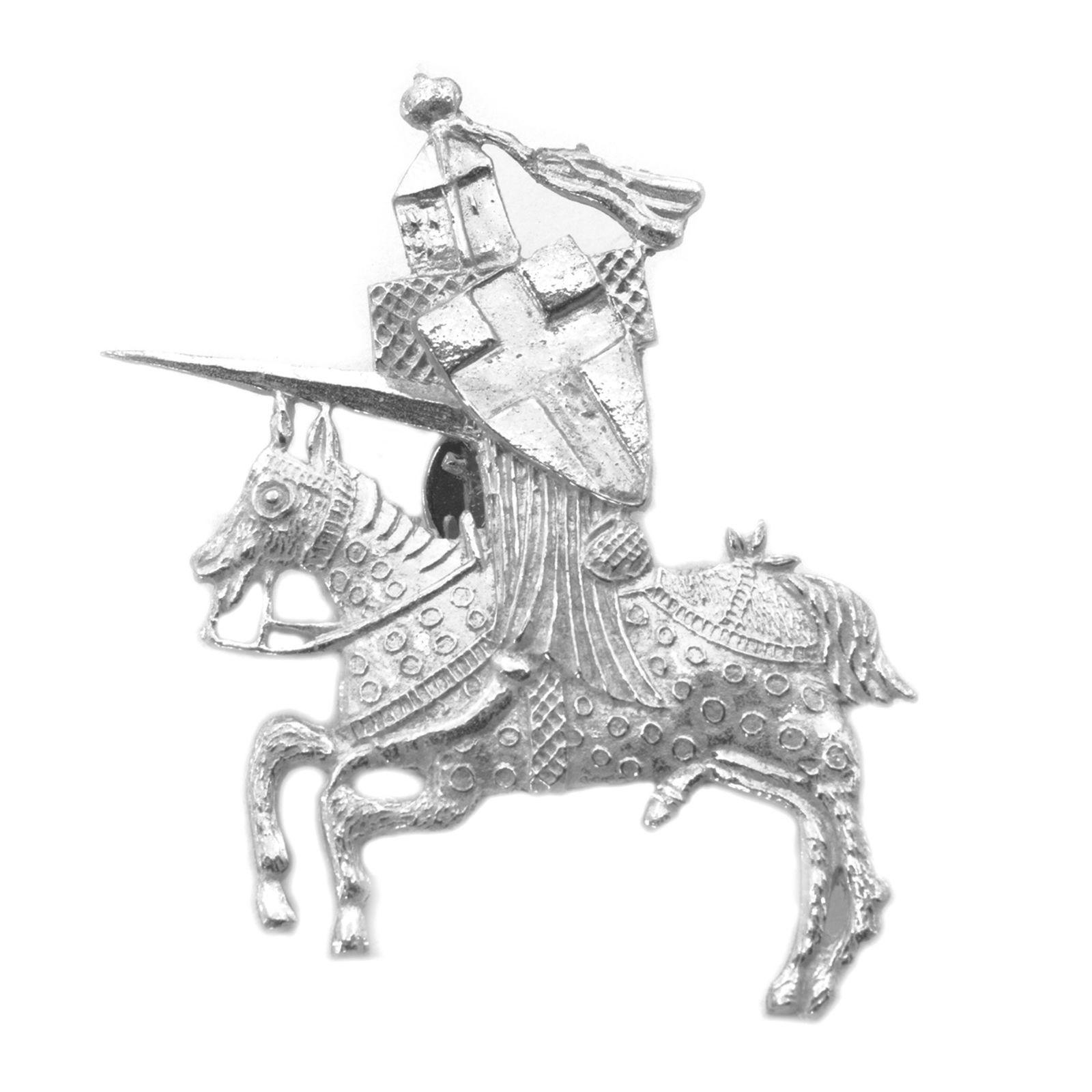 Turnajaisritari tinapinssi 1350-1400